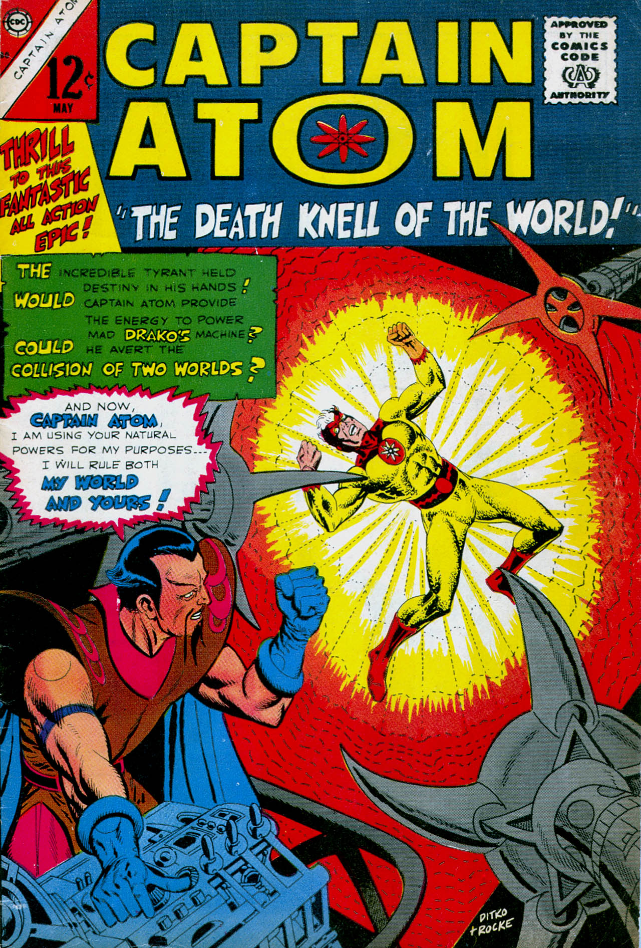 Captain Atom (1965) 80 Page 1