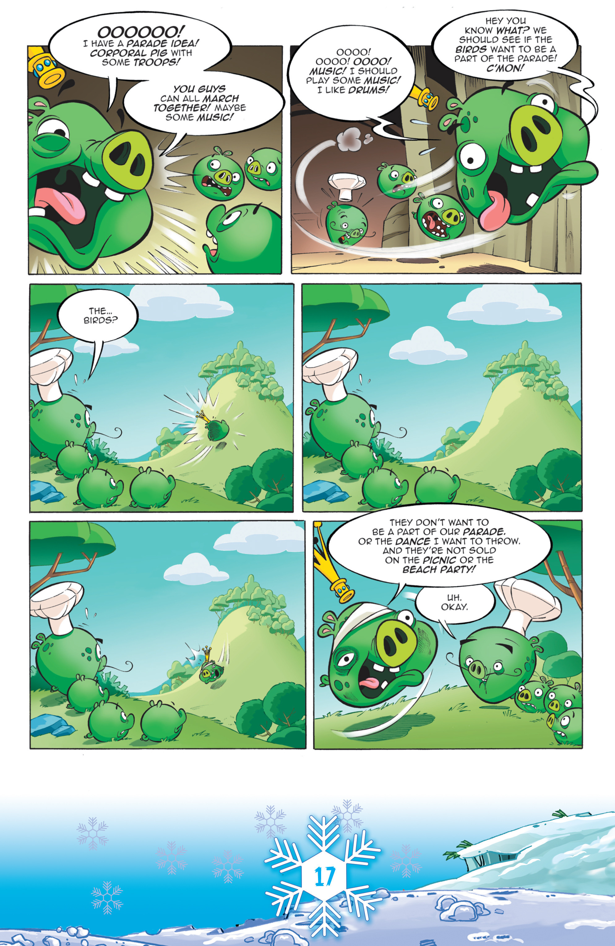 Read online Angry Birds Comics (2016) comic -  Issue #12 - 19