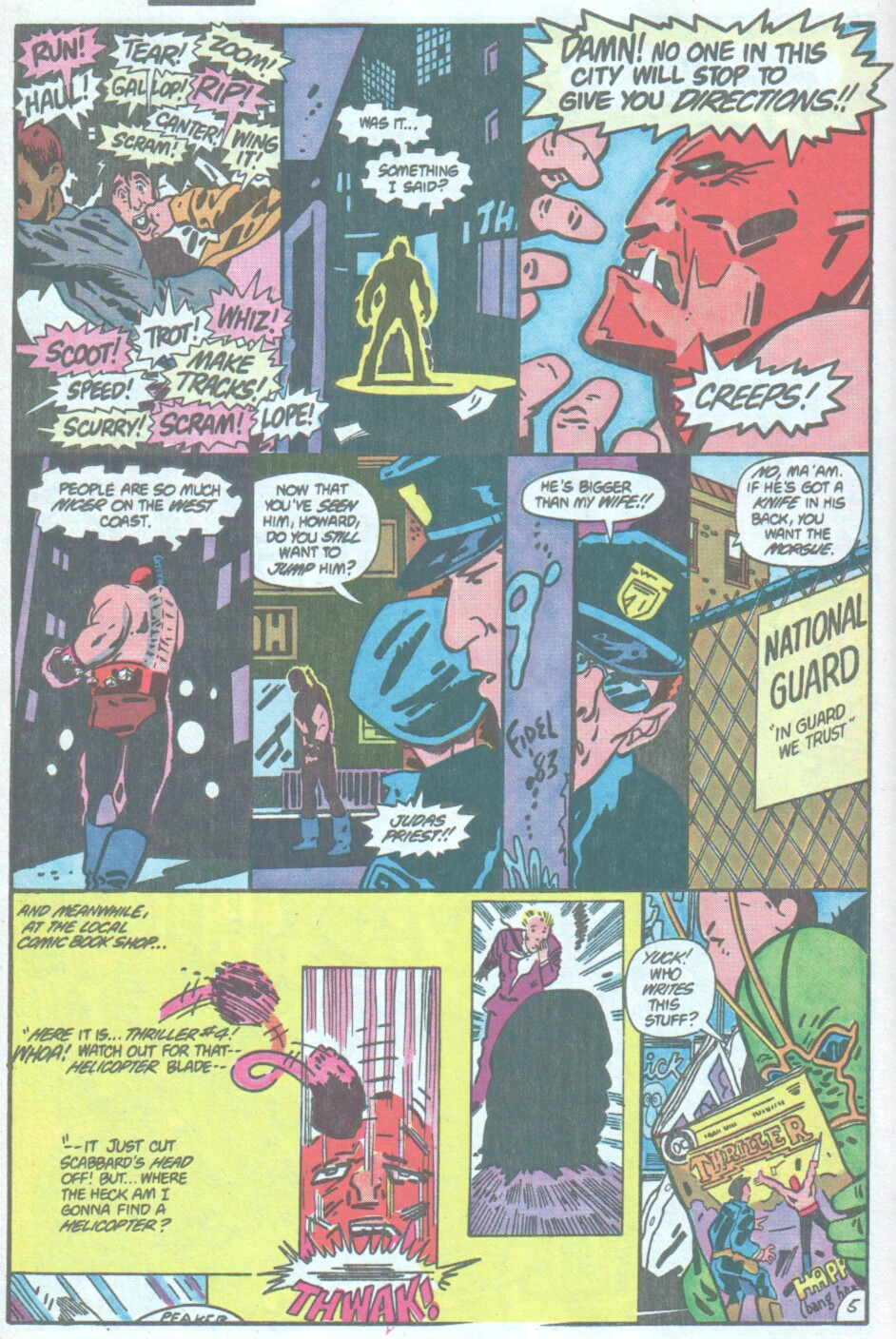 Read online Ambush Bug comic -  Issue #4 - 6
