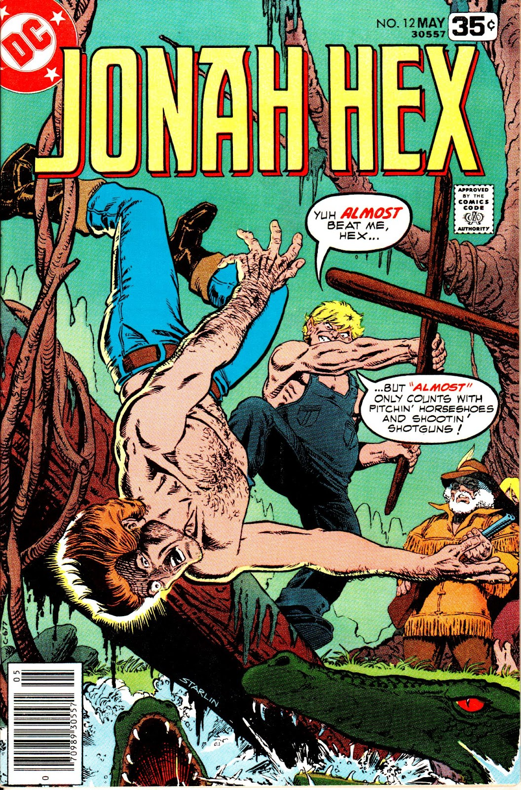 Jonah Hex (1977) 12 Page 1