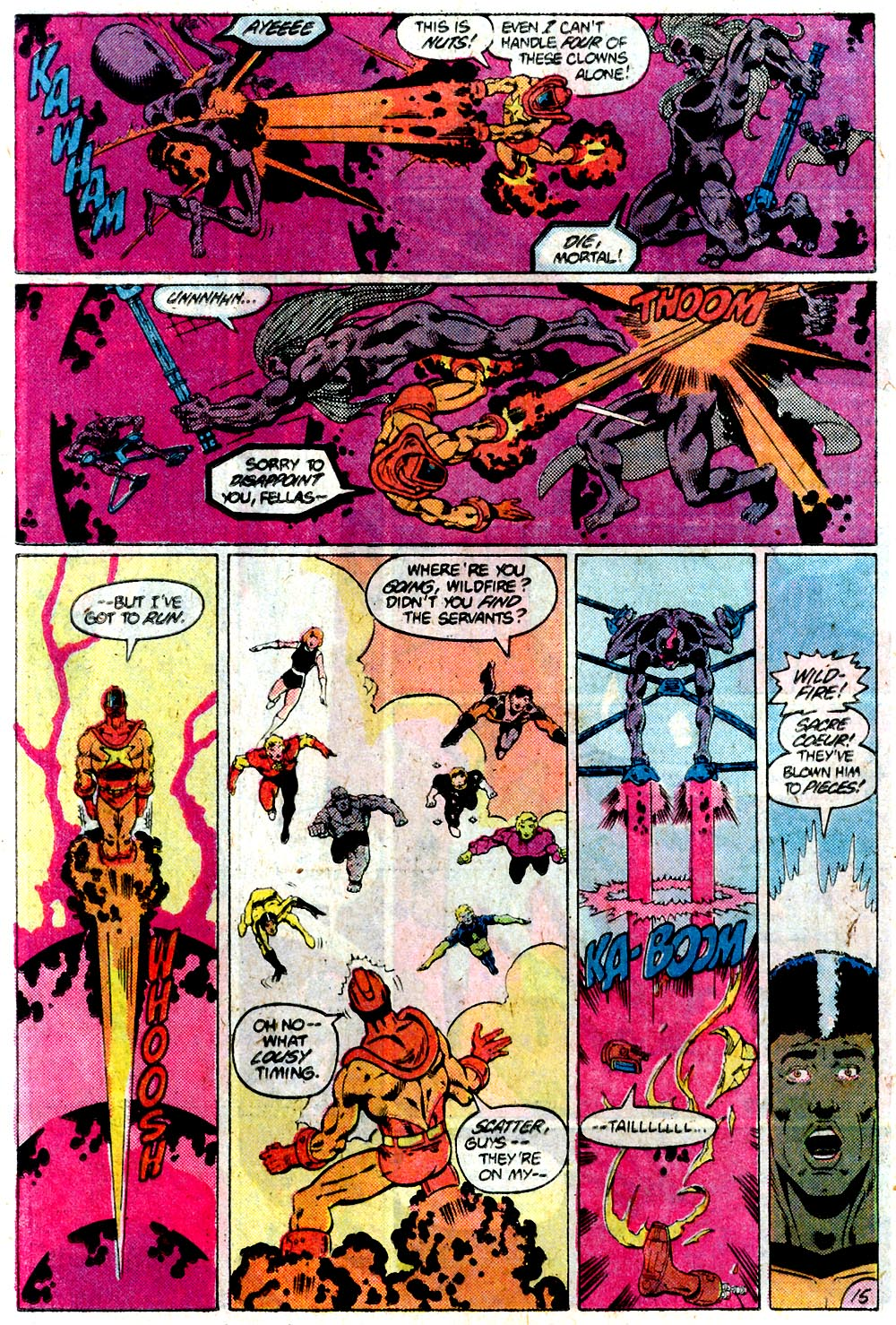 Legion of Super-Heroes (1980) 292 Page 15