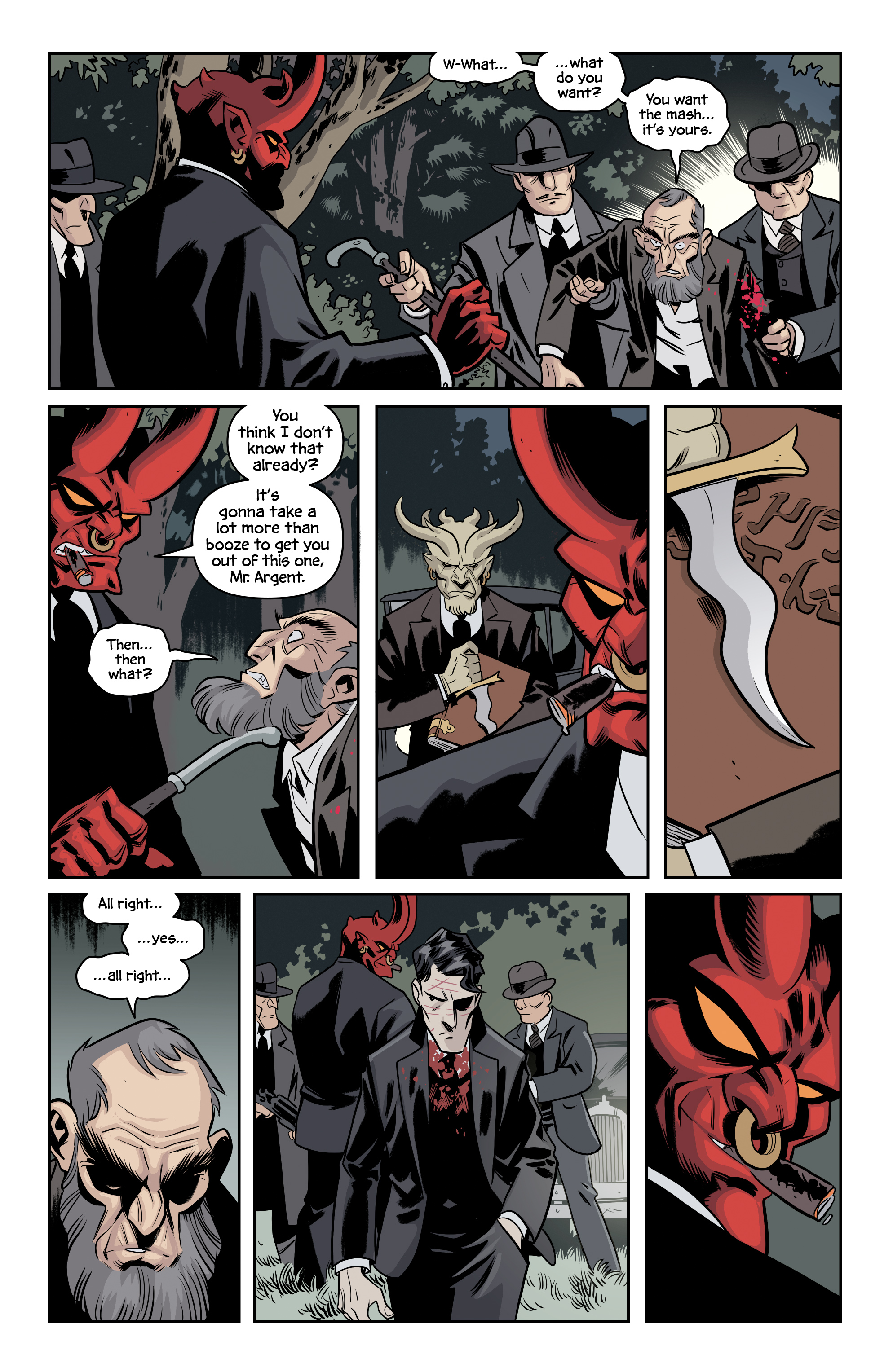 Read online The Damned comic -  Issue #2 - 15