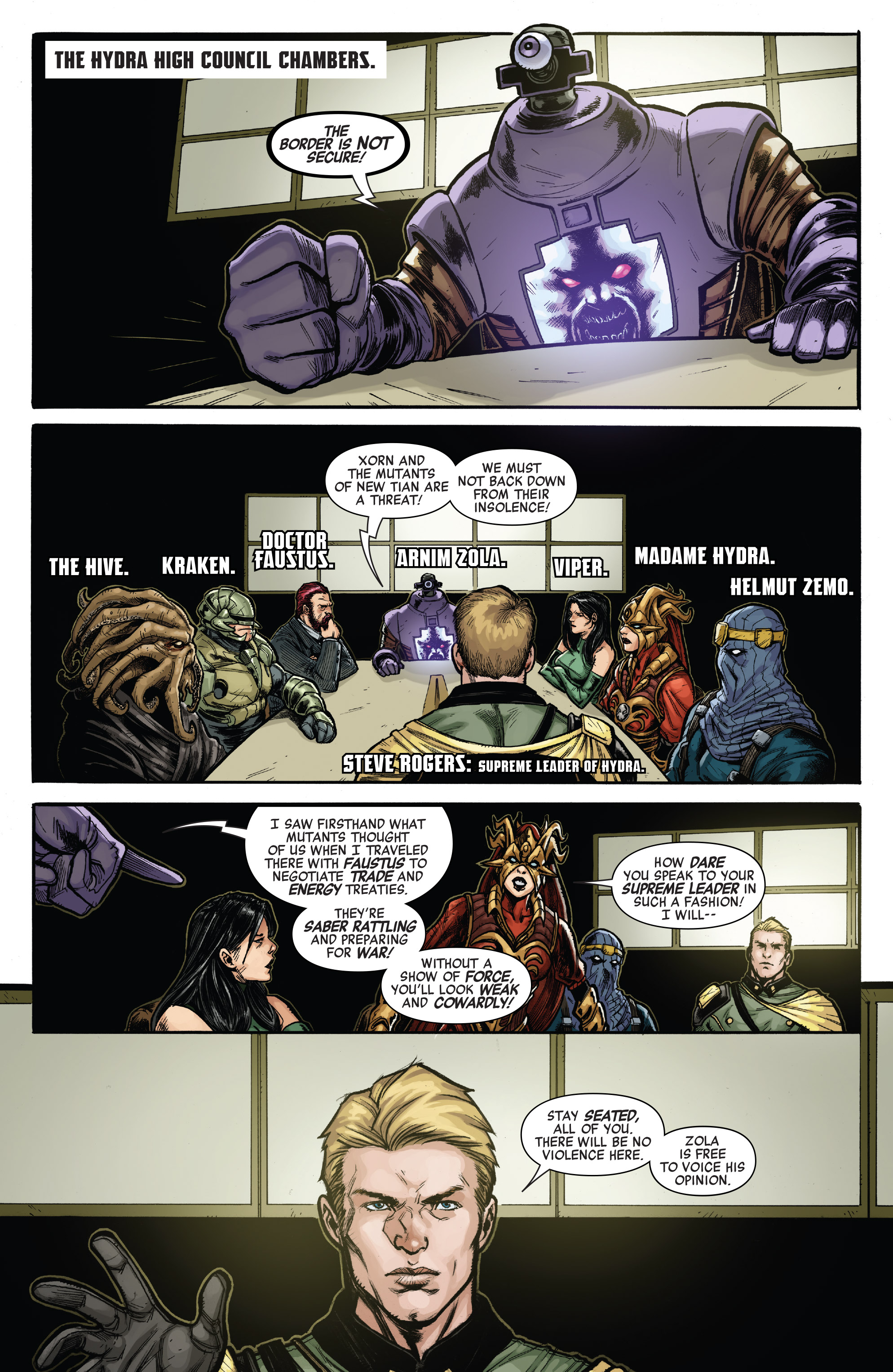 Read online Secret Empire: United comic -  Issue # Full - 11