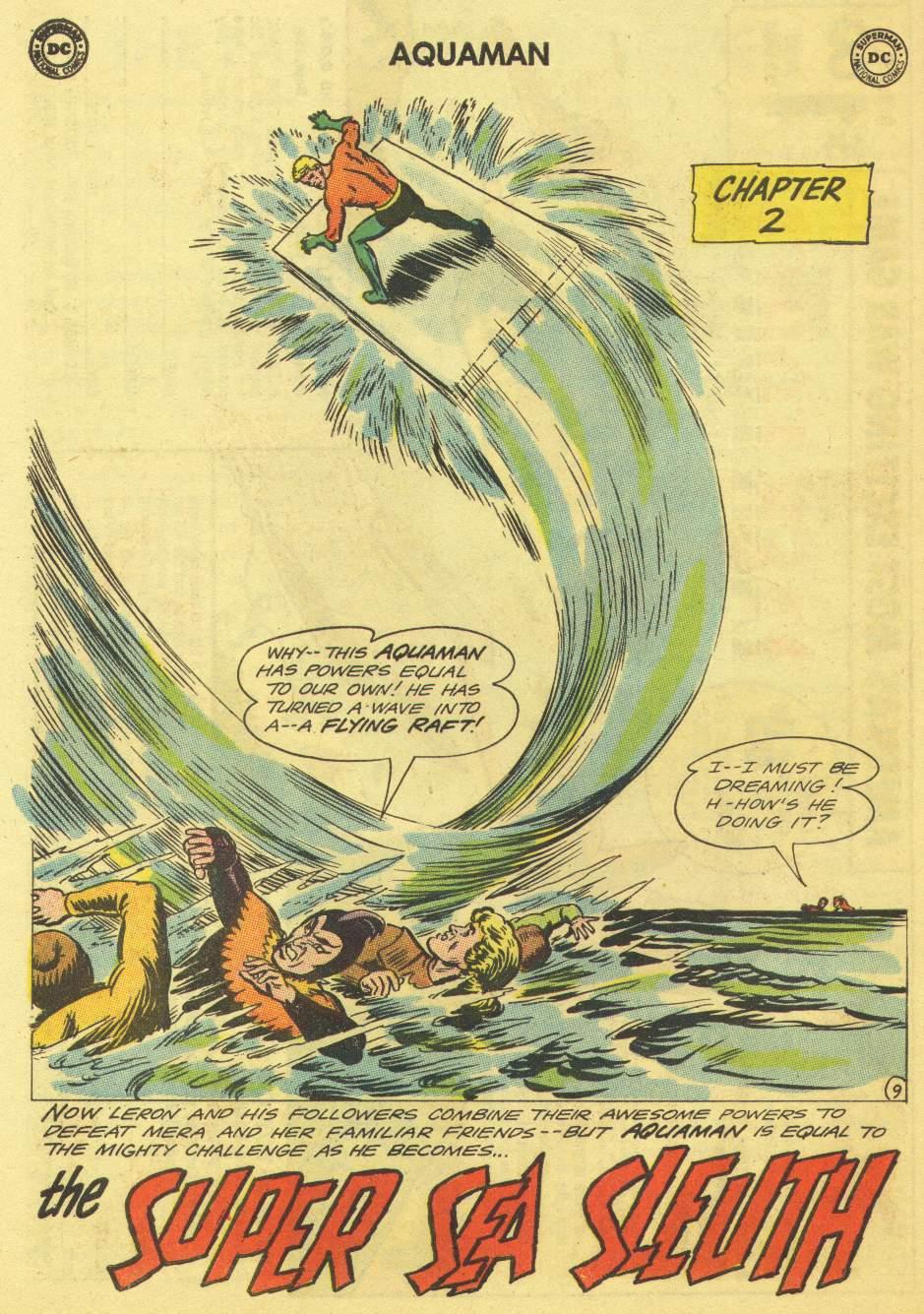 Read online Aquaman (1962) comic -  Issue #11 - 14