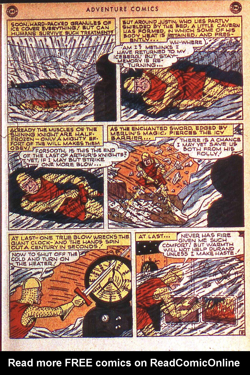Read online Adventure Comics (1938) comic -  Issue #125 - 38