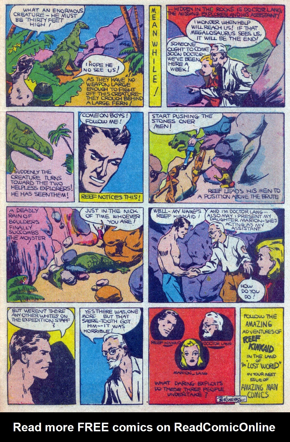 Read online Amazing Man Comics comic -  Issue #15 - 58