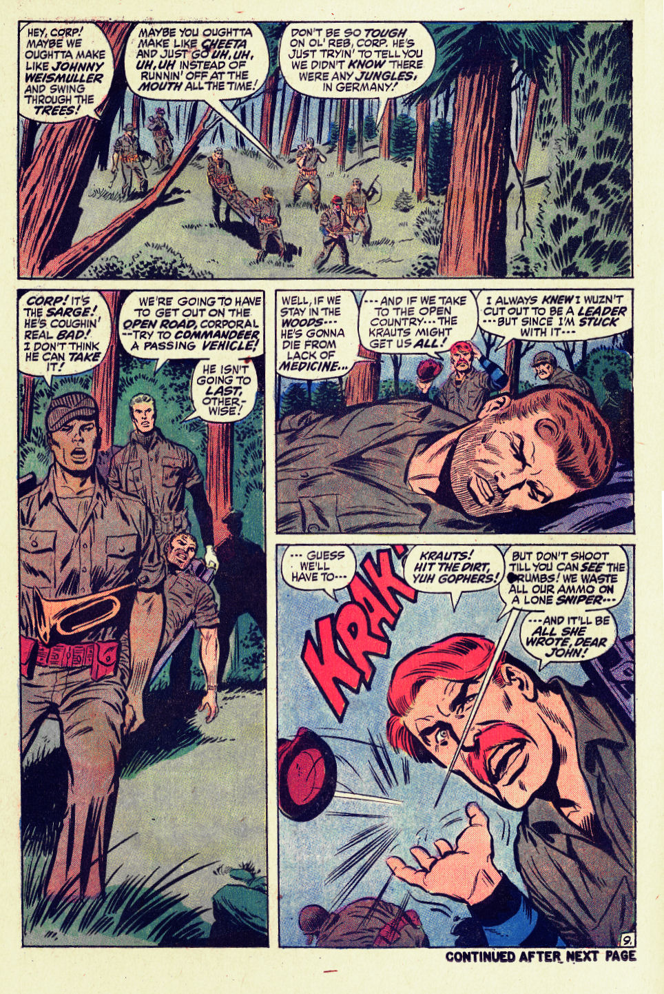 Read online Sgt. Fury comic -  Issue #96 - 14