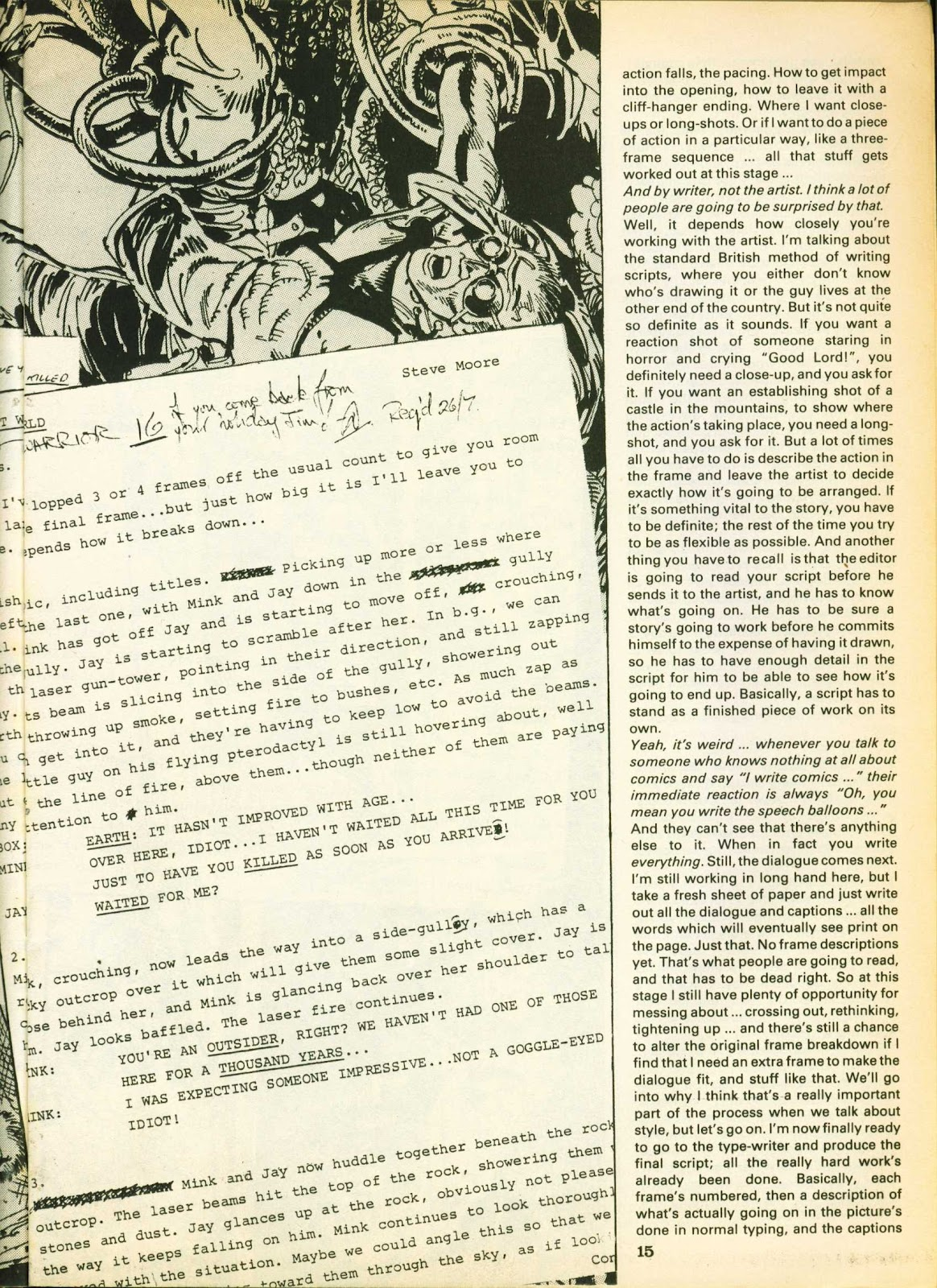Warrior Issue #15 #16 - English 15