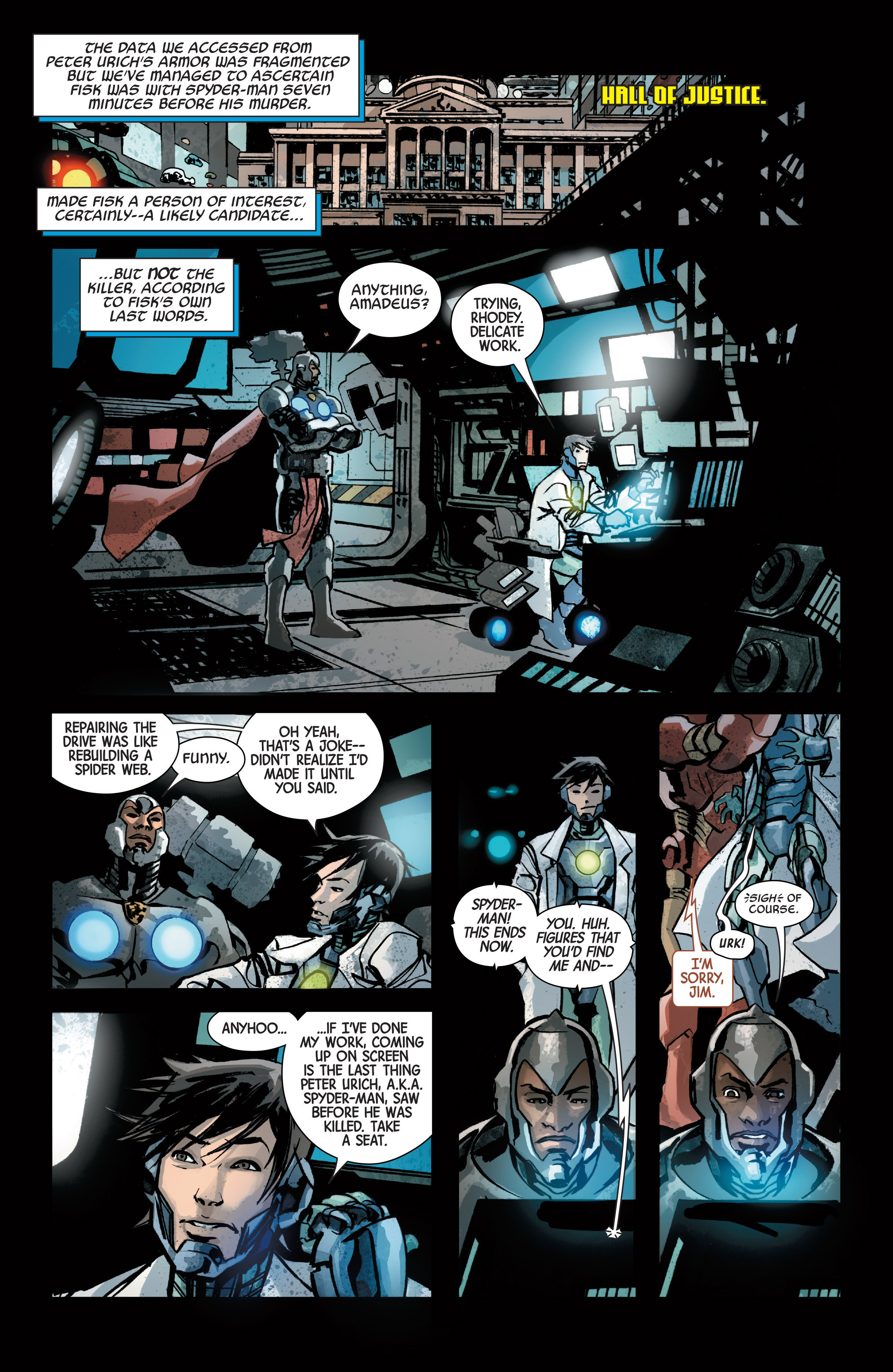 Read online Armor Wars comic -  Issue #4 - 10