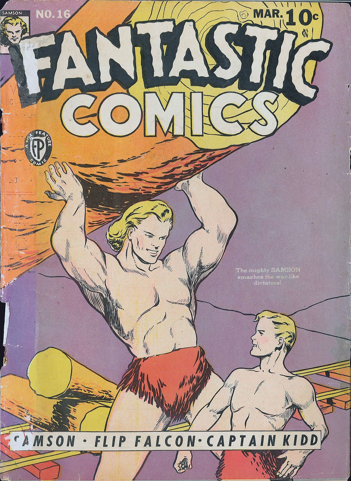 Read online Fantastic Comics comic -  Issue #16 - 1