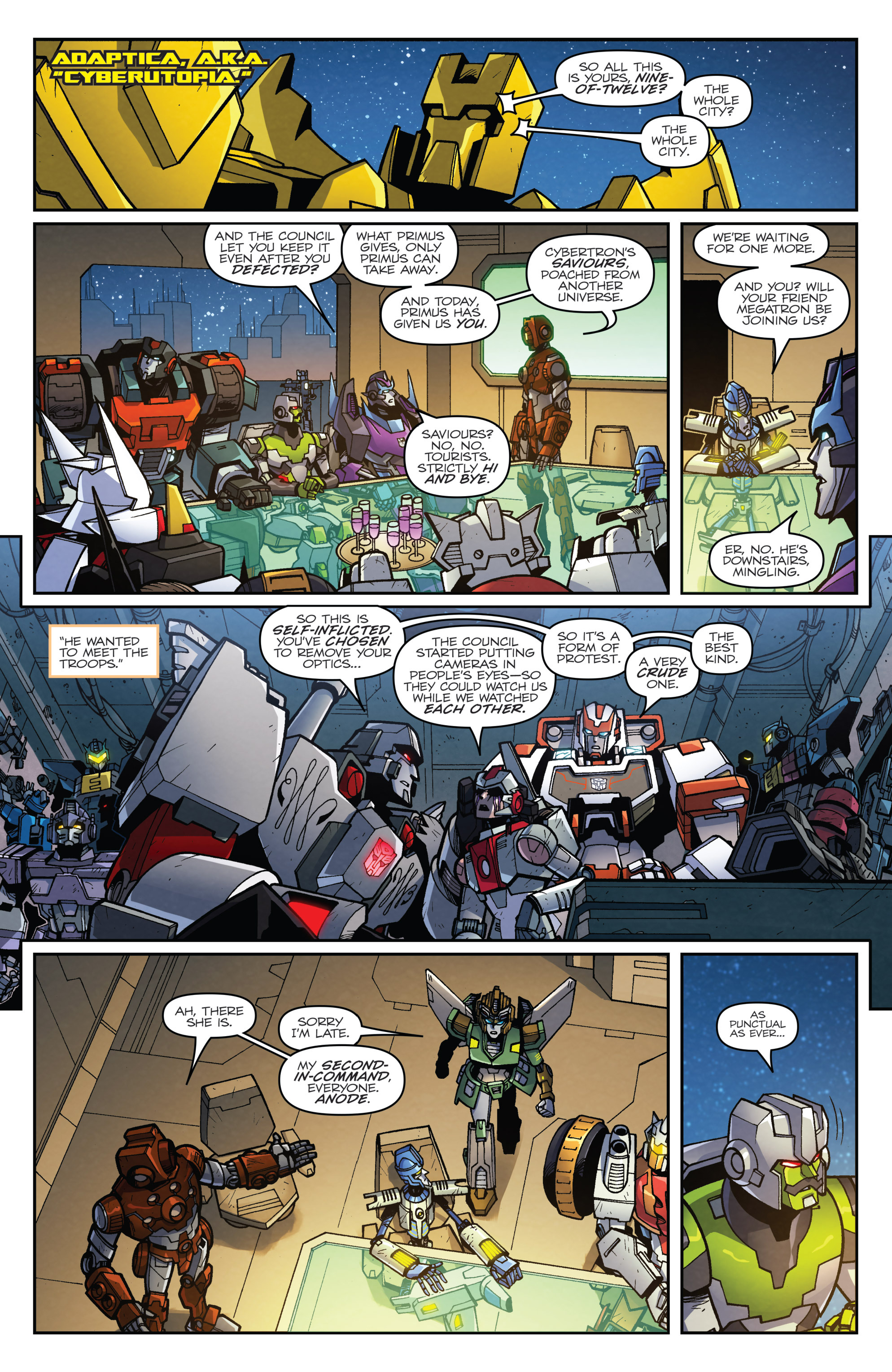 Read online Transformers: Lost Light comic -  Issue #3 - 11