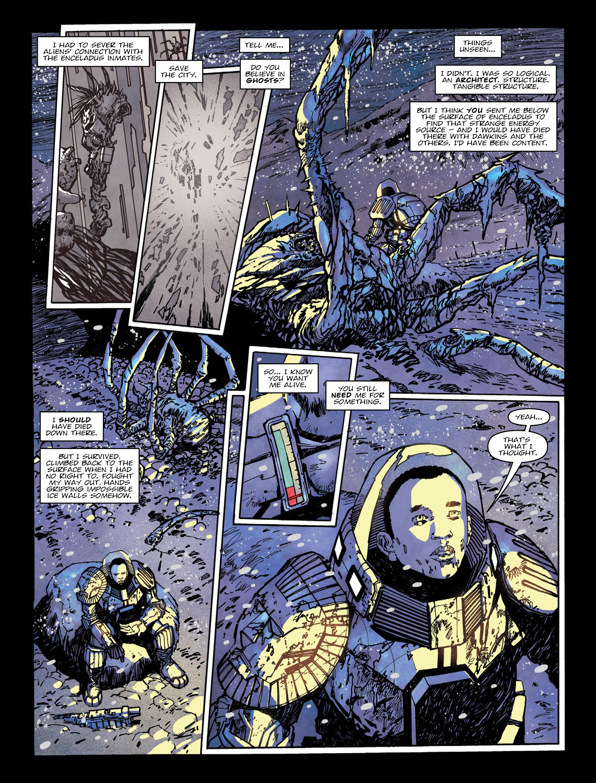 Read online 2000 AD comic -  Issue #2004 - 4