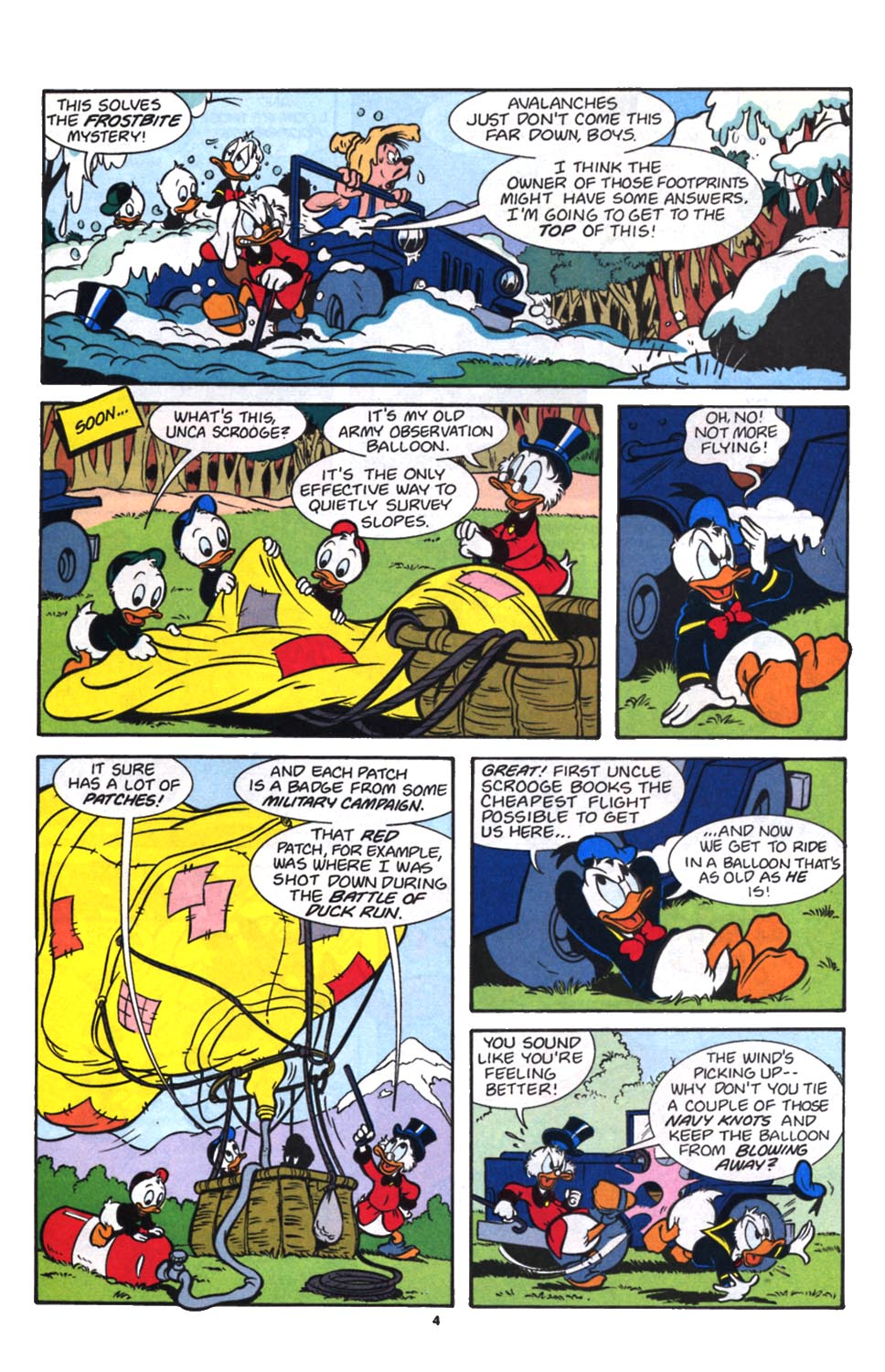 Read online Uncle Scrooge (1953) comic -  Issue #257 - 5