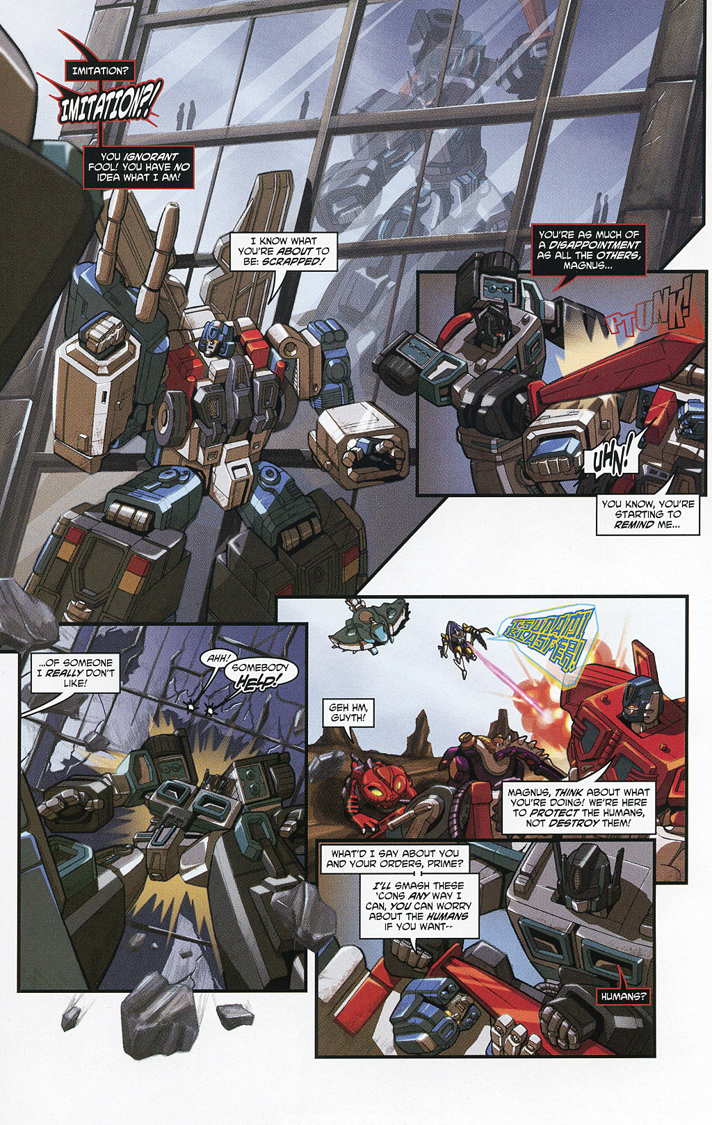 Read online Transformers 20th Anniversary Summer Special comic -  Issue # Full - 27