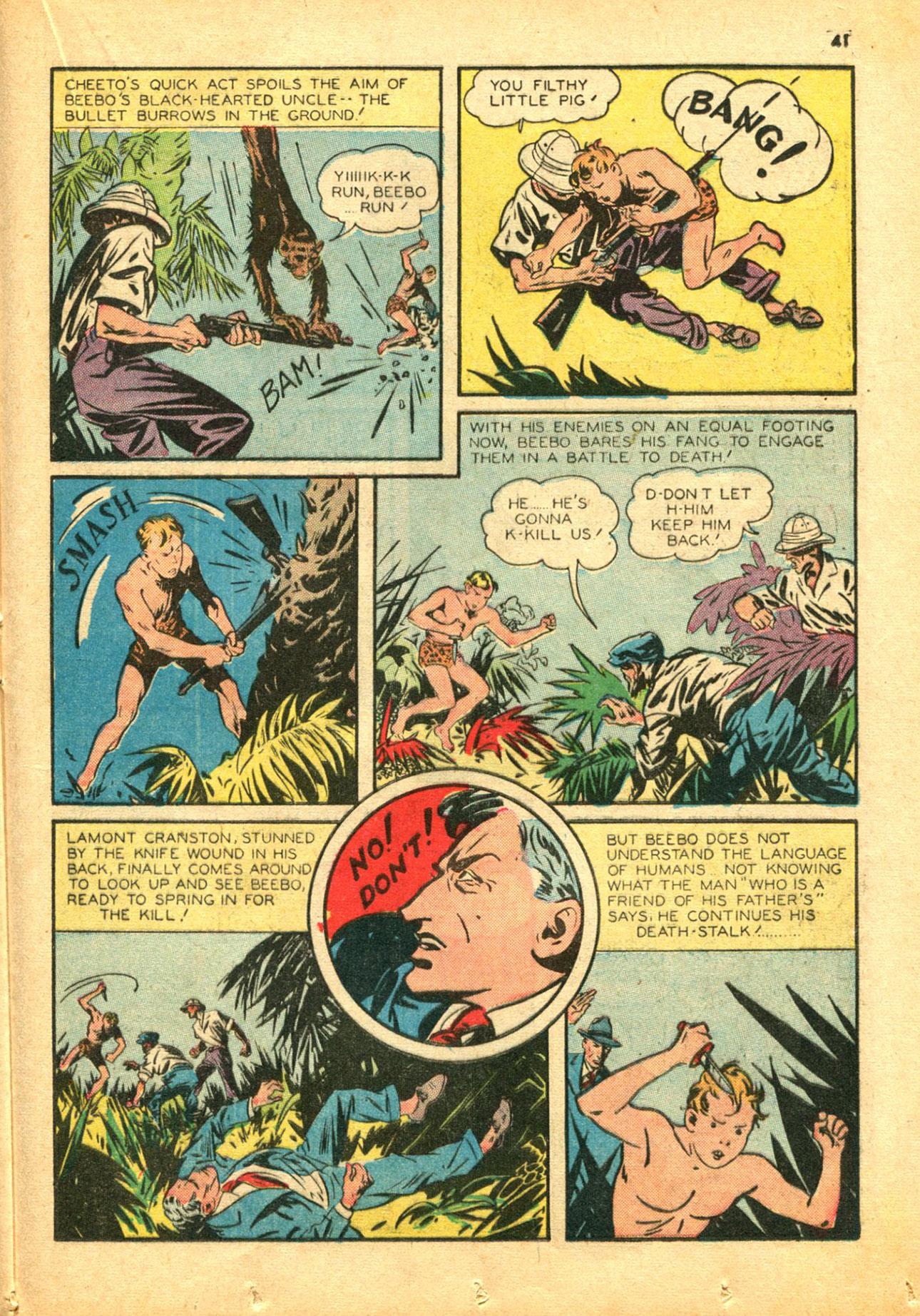 Read online Shadow Comics comic -  Issue #30 - 41