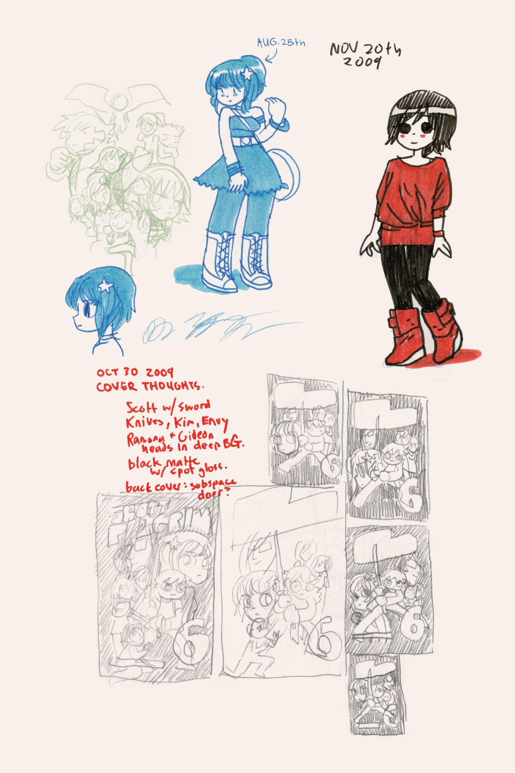 Read online Scott Pilgrim comic -  Issue #6 - 259