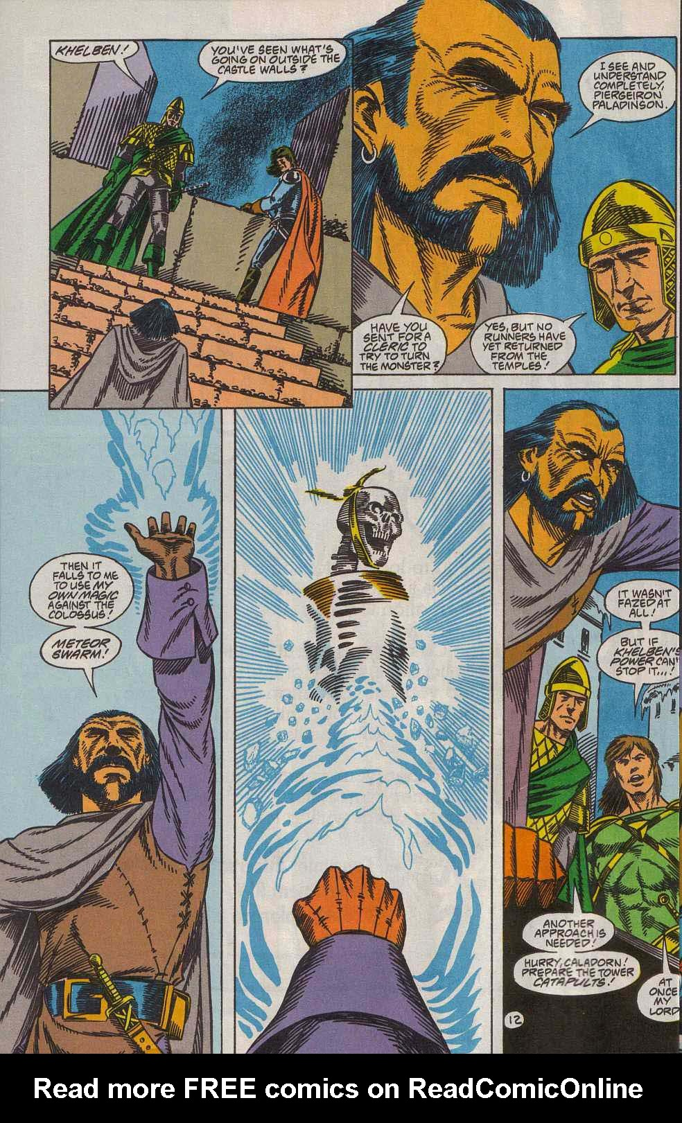 Read online Advanced Dungeons & Dragons comic -  Issue #7 - 13