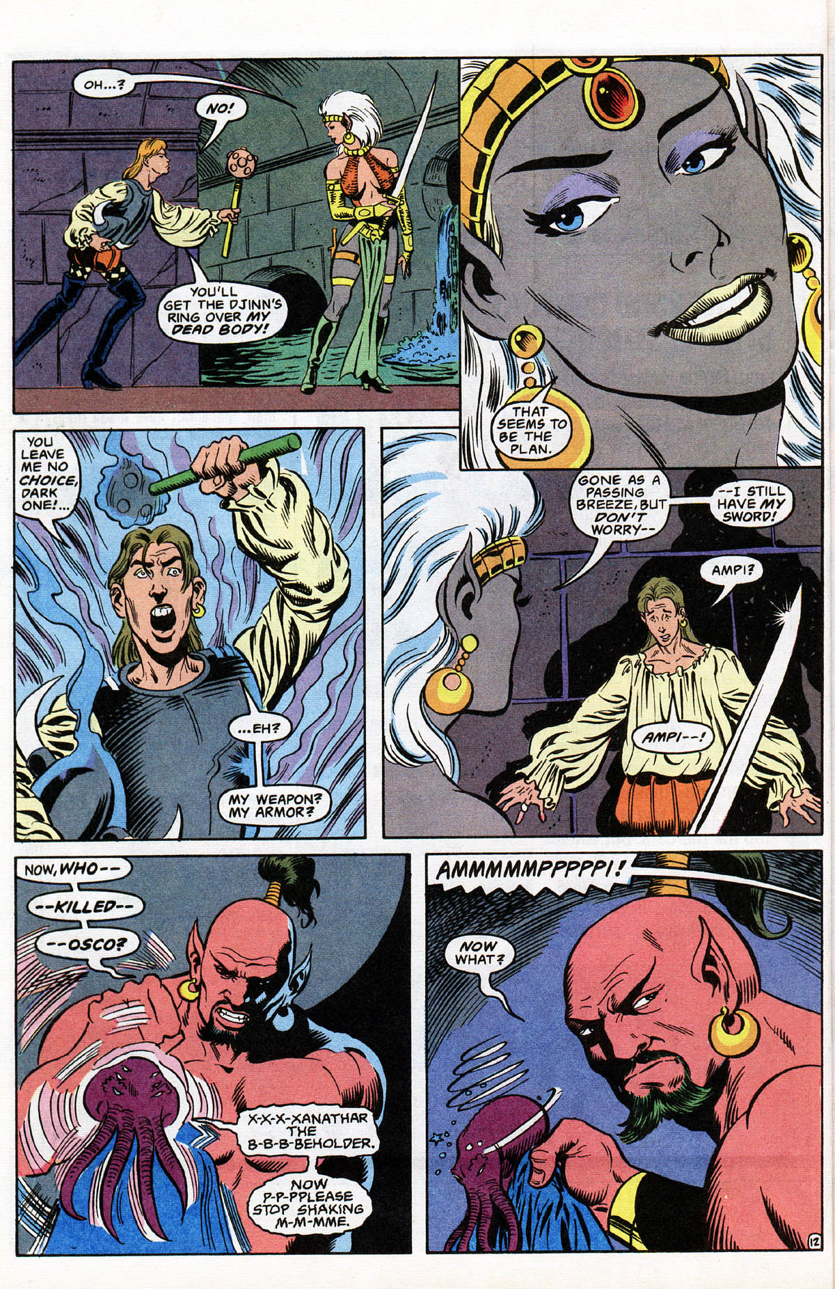 Read online Advanced Dungeons & Dragons comic -  Issue #12 - 15