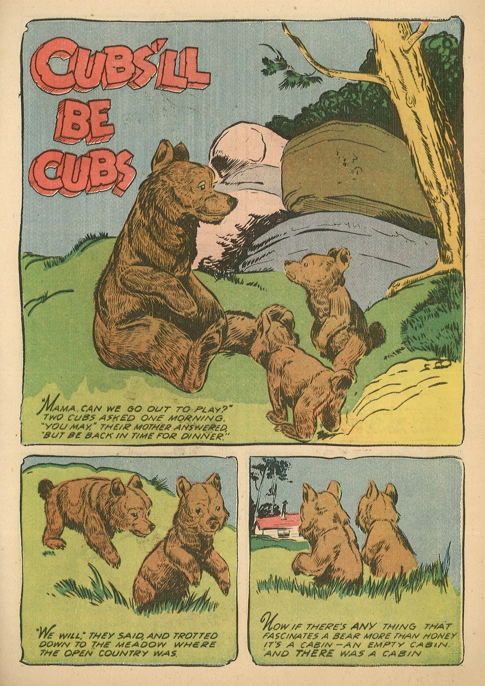 Read online Animal Comics comic -  Issue #18 - 31