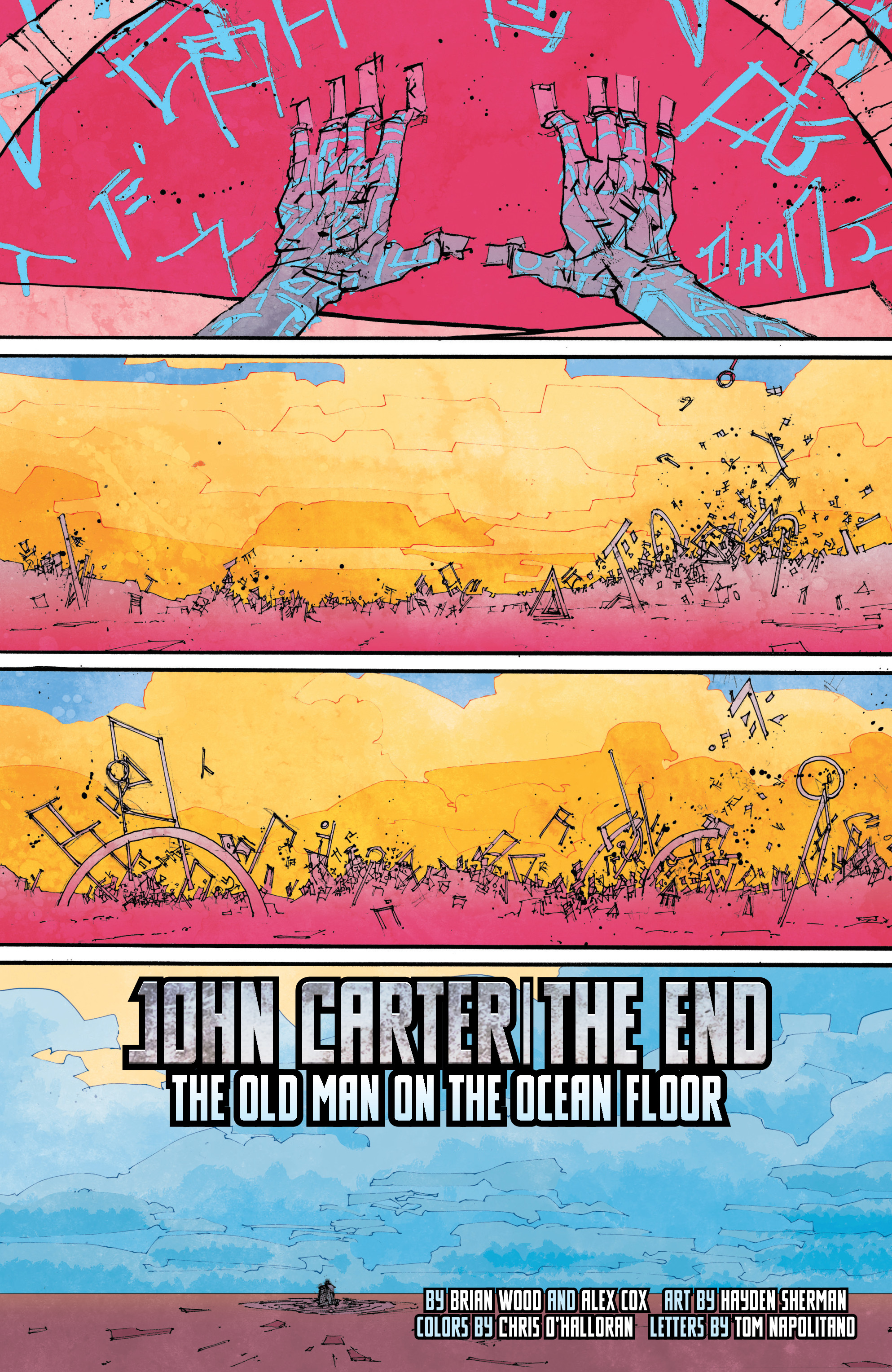Read online John Carter: The End comic -  Issue #4 - 6
