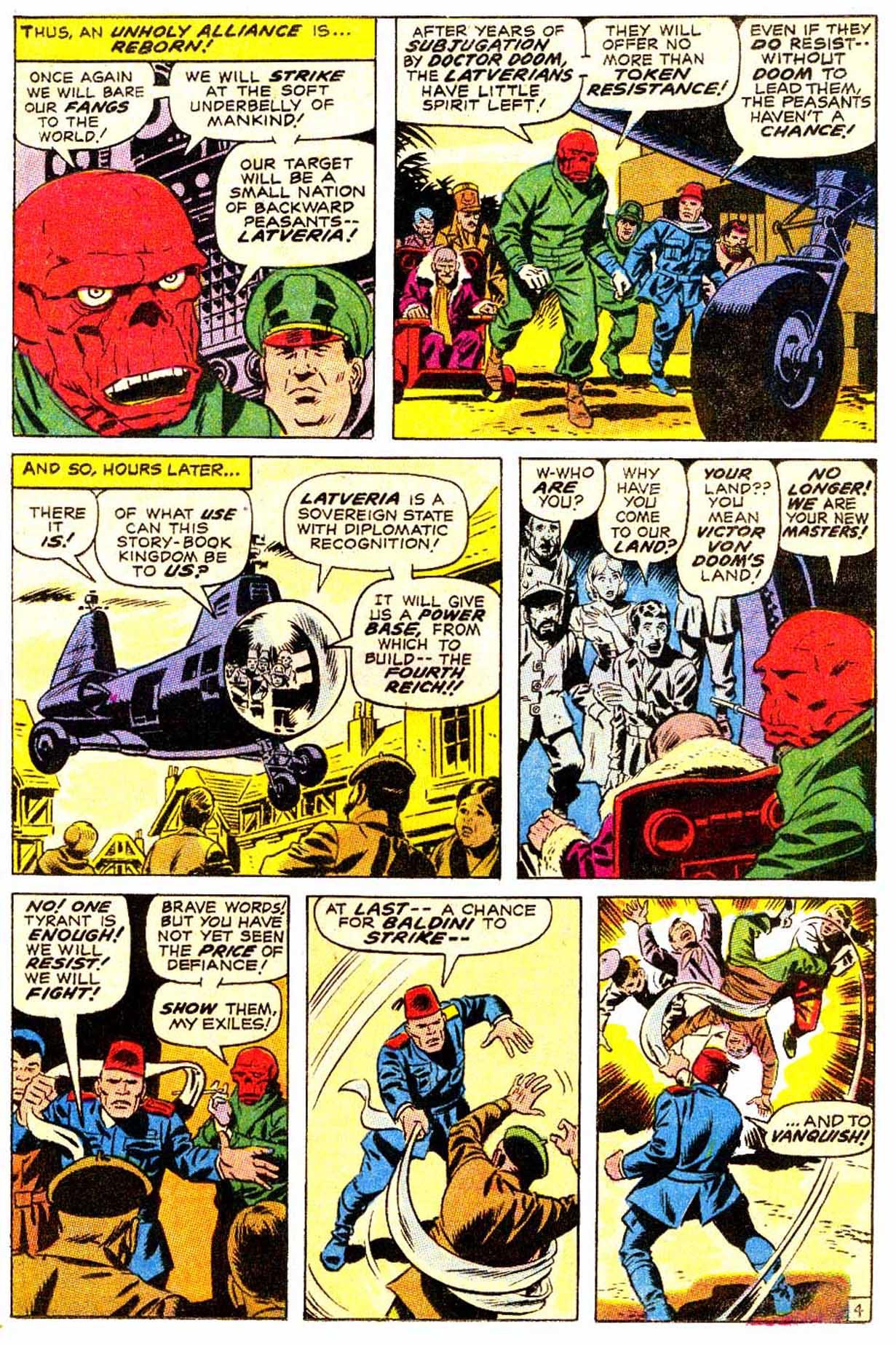 Read online Astonishing Tales (1970) comic -  Issue #4 - 5