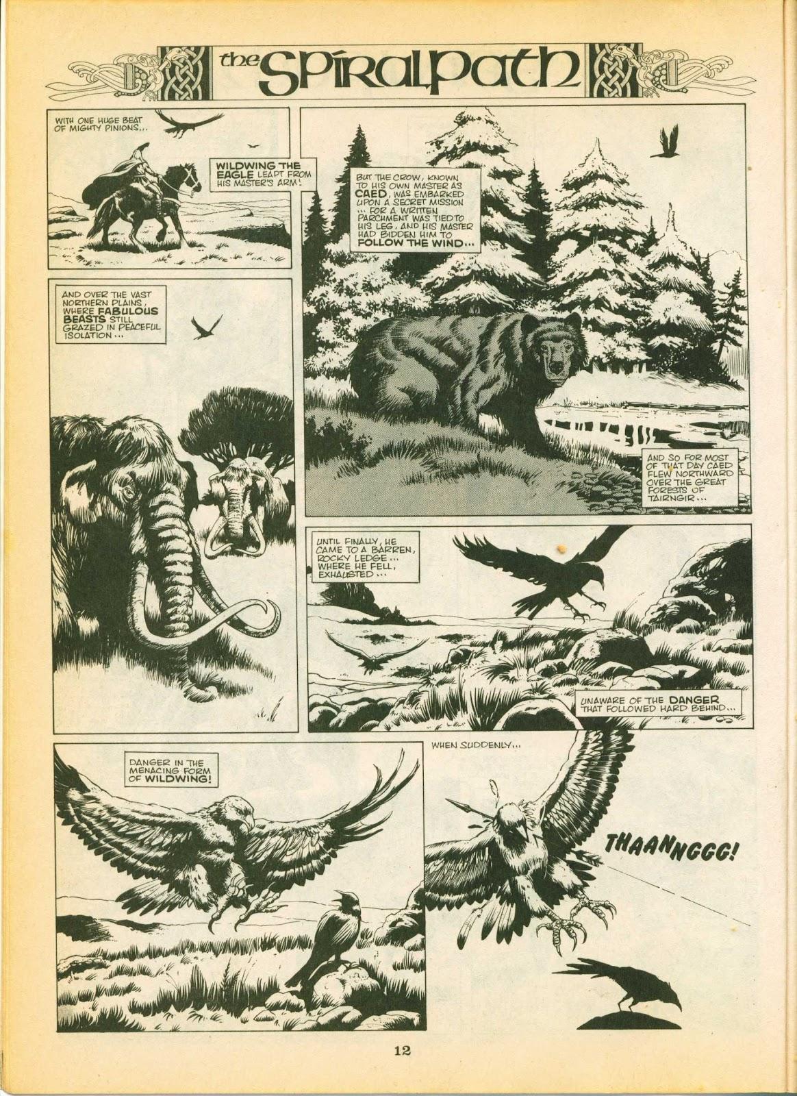 Warrior Issue #3 #4 - English 12
