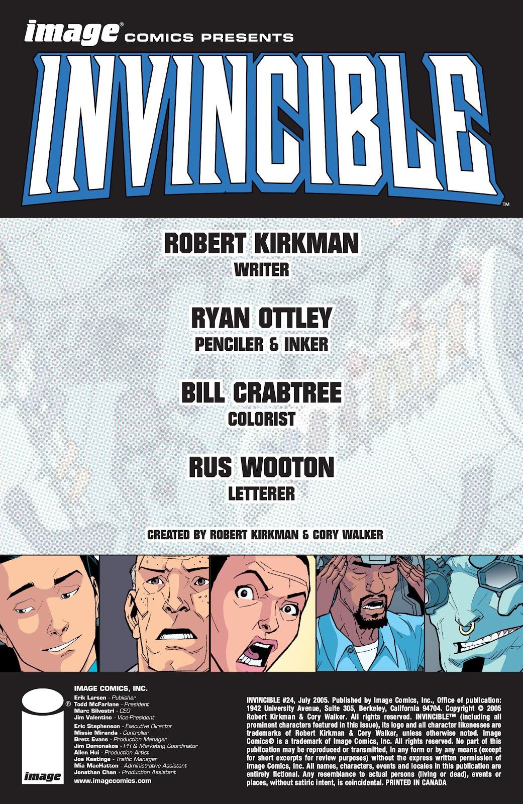 Invincible (2003) 24 Page 2