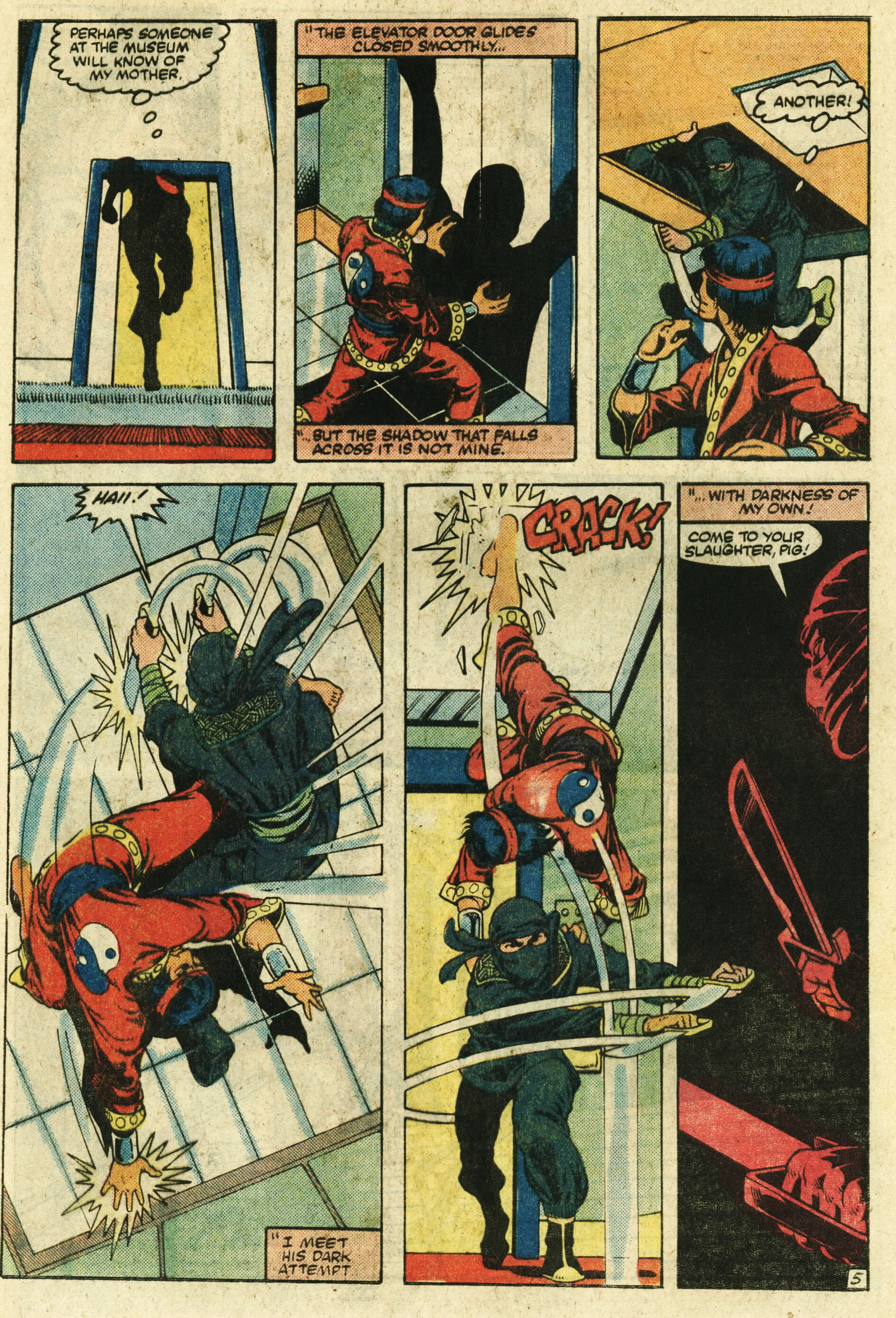 Read online Master of Kung Fu (1974) comic -  Issue #123 - 6