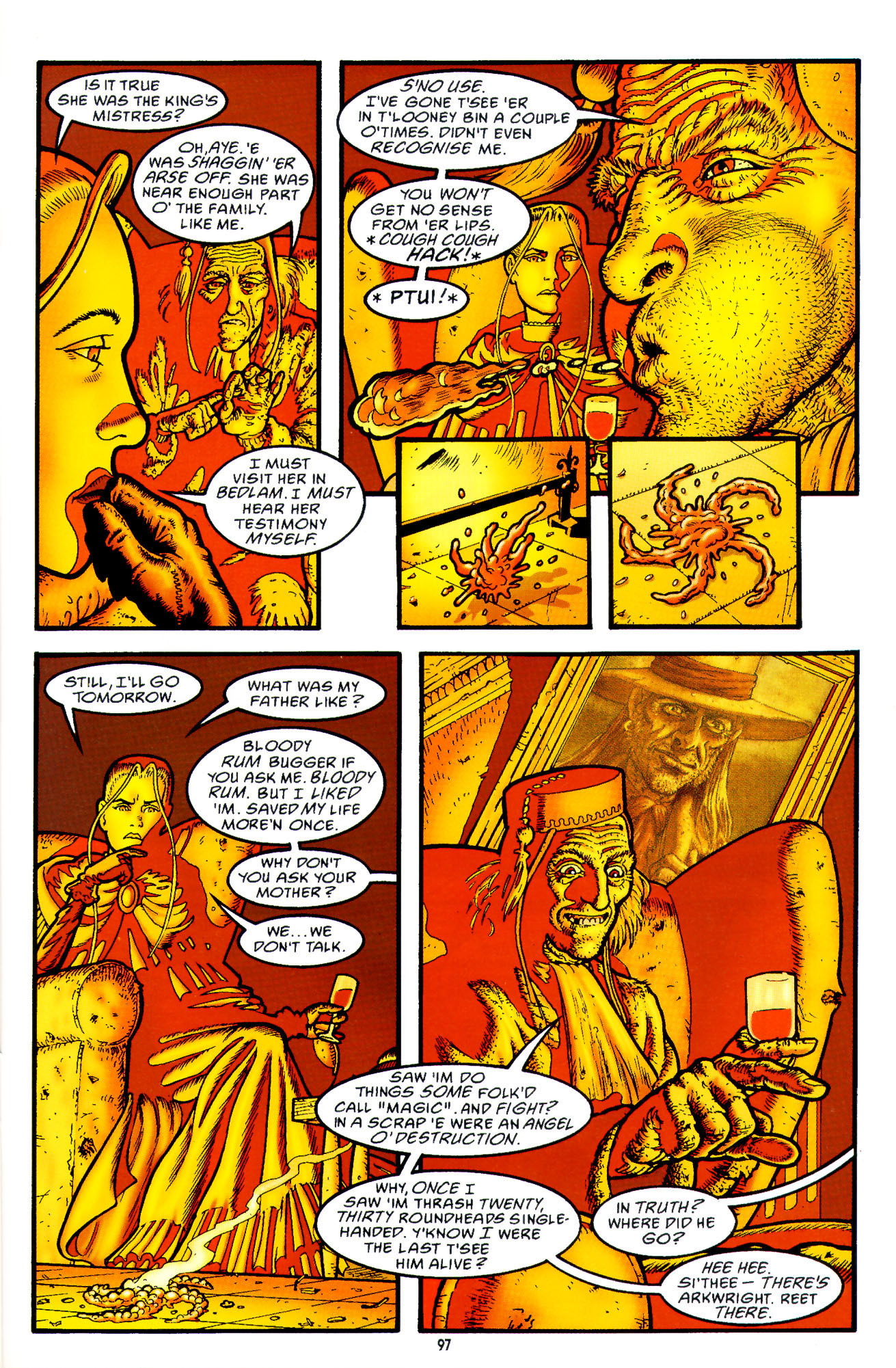 Read online Heart of Empire comic -  Issue #3 - 39