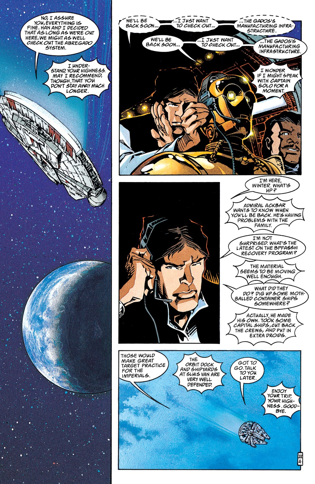 Read online Star Wars Legends: The New Republic - Epic Collection comic -  Issue # TPB 4 (Part 1) - 83