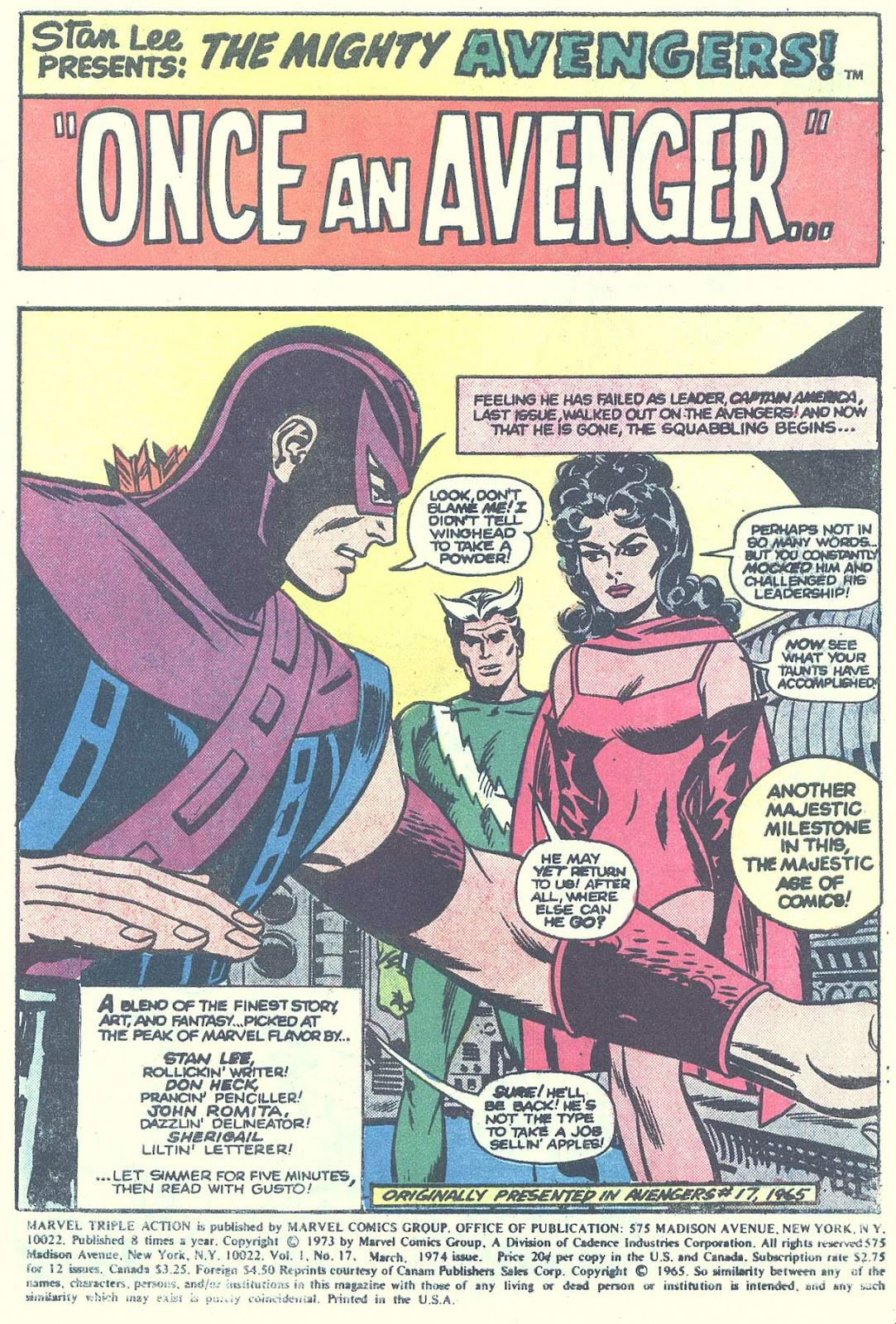Marvel Triple Action (1972) issue 17 - Page 3