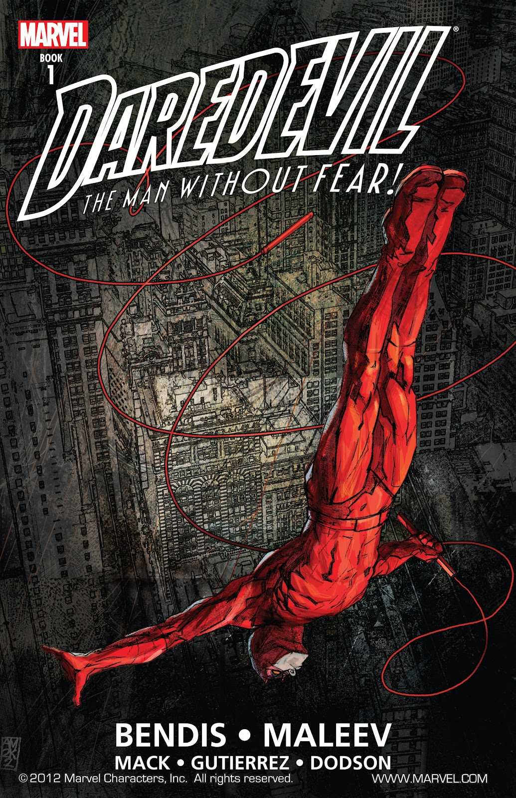 Read online Daredevil (1998) comic -  Issue # _Ultimate_Collection TPB 1 (Part 1) - 1