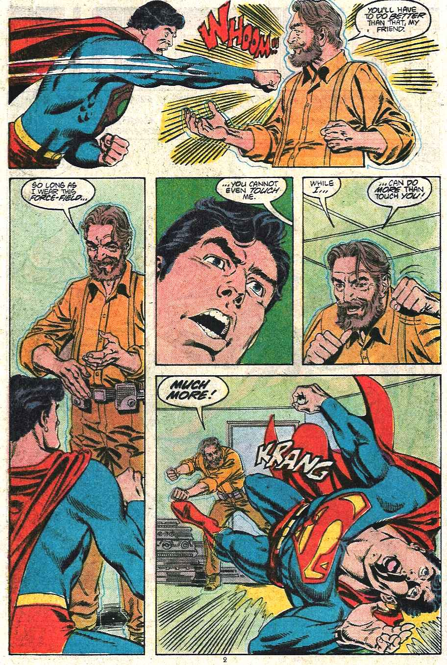 Read online Adventures of Superman (1987) comic -  Issue #440 - 3