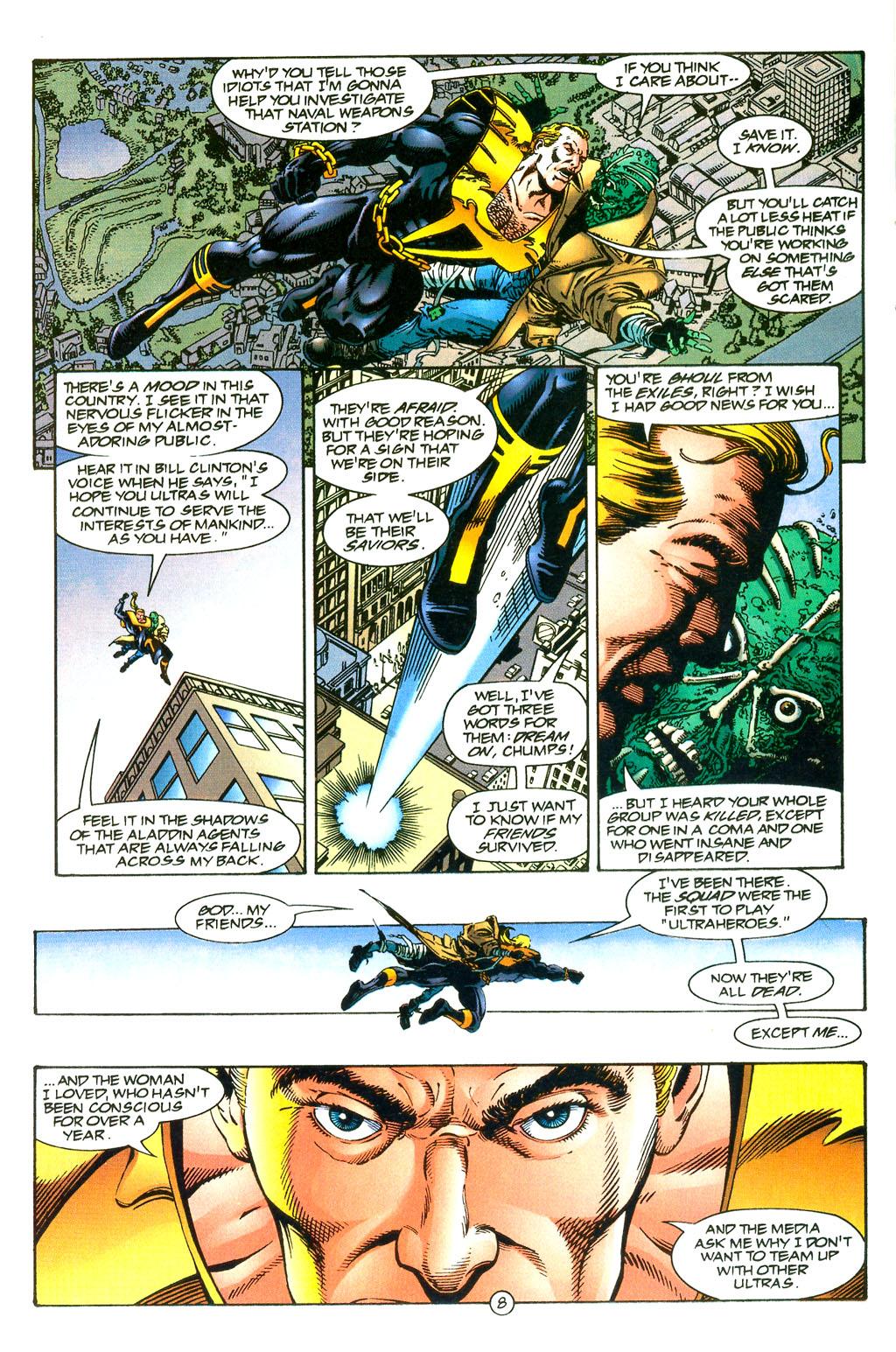 Read online UltraForce (1994) comic -  Issue #0 - 10