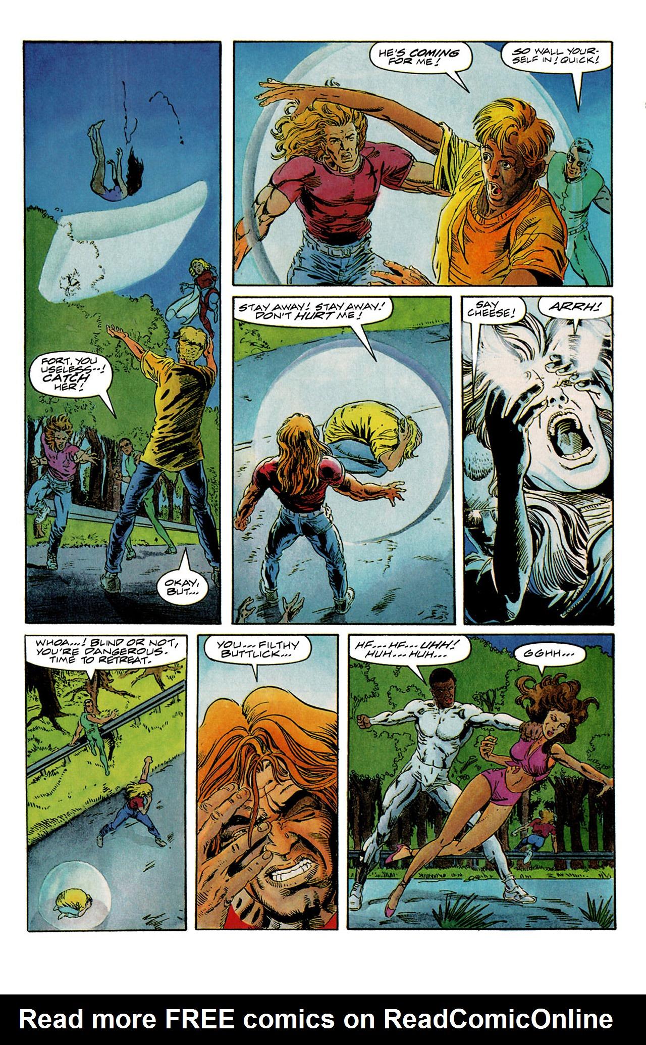 Read online Harbinger (1992) comic -  Issue #6 - 18