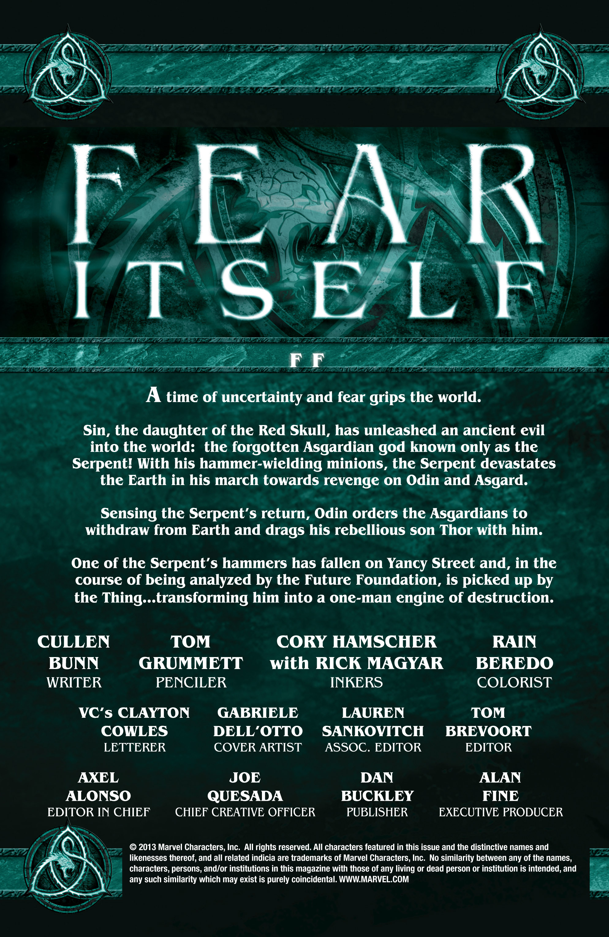 Read online Fear Itself: FF comic -  Issue # Full - 2