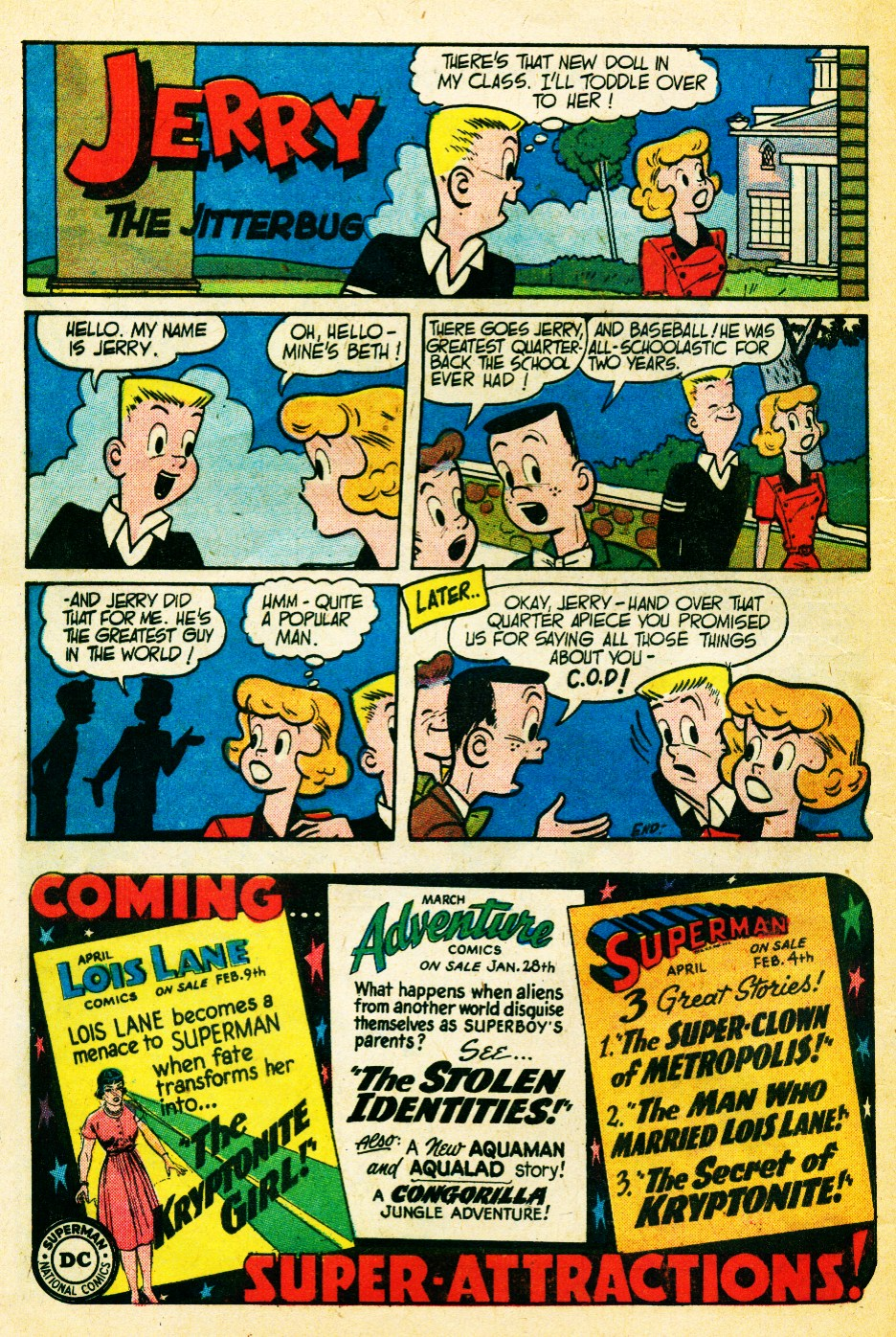 Read online Action Comics (1938) comic -  Issue #262 - 32
