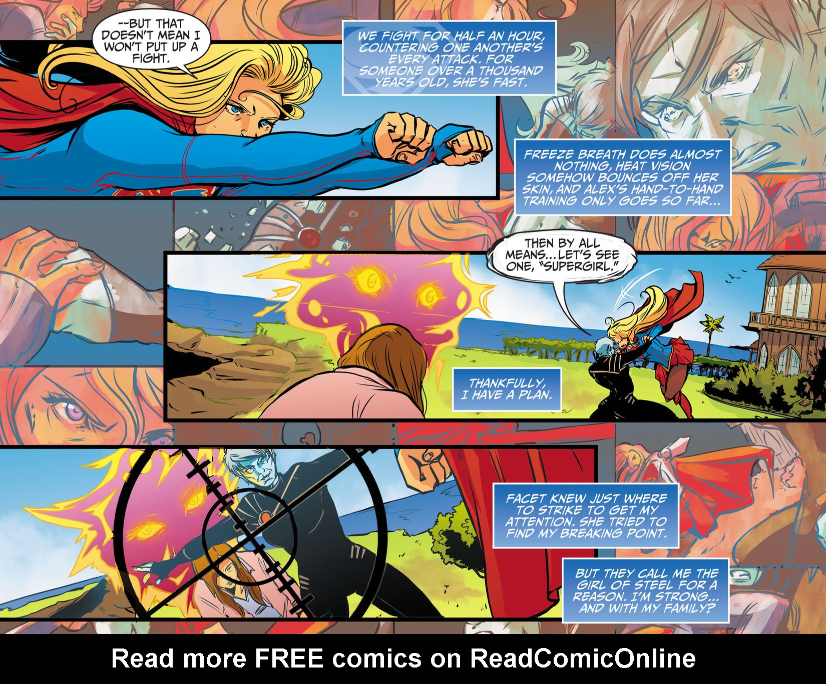 Read online Adventures of Supergirl comic -  Issue #13 - 11