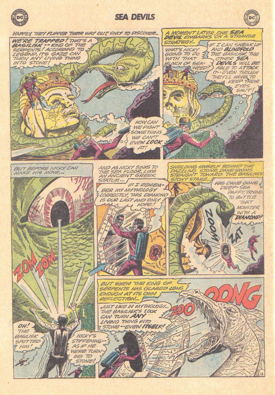 Read online Sea Devils comic -  Issue #16 - 30