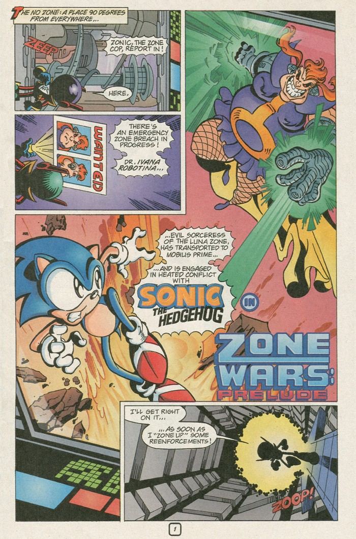 Read online Sonic Super Special comic -  Issue #8 - Giant special - 4