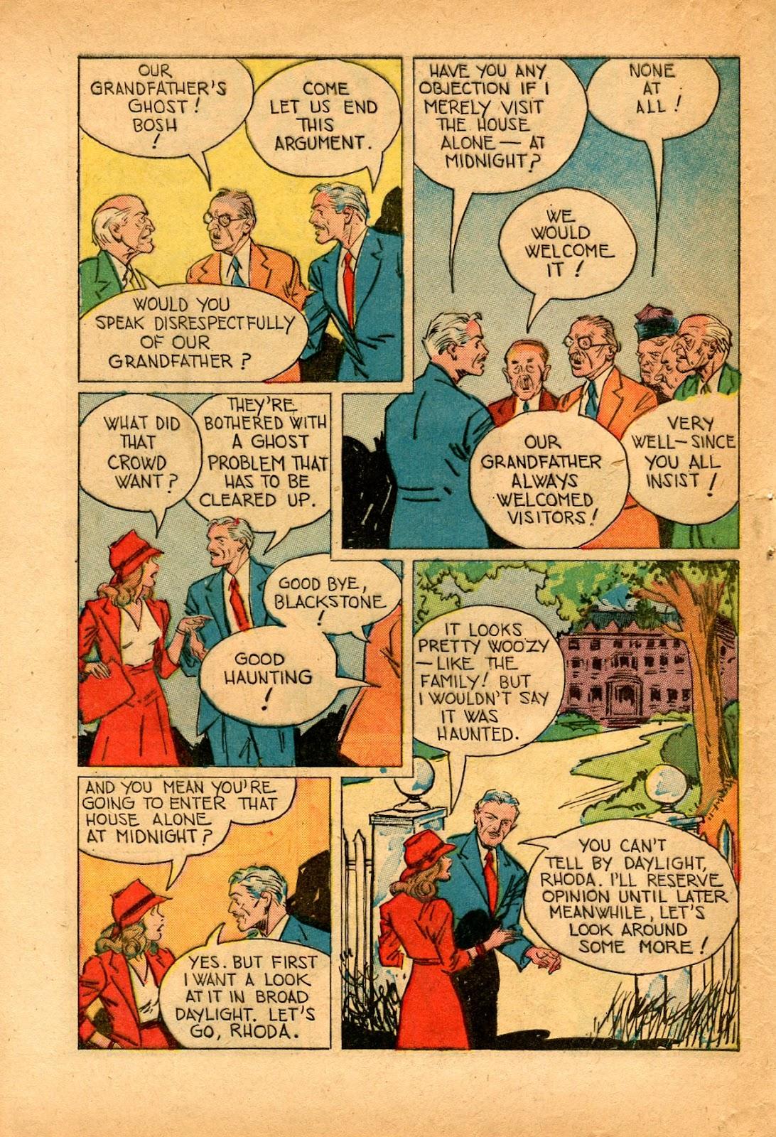 Read online Super-Magician Comics comic -  Issue #33 - 40