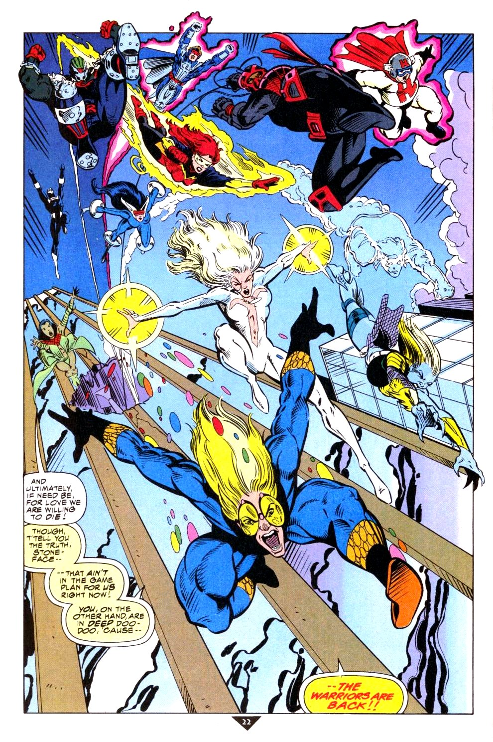 The New Warriors Issue #50 #54 - English 18