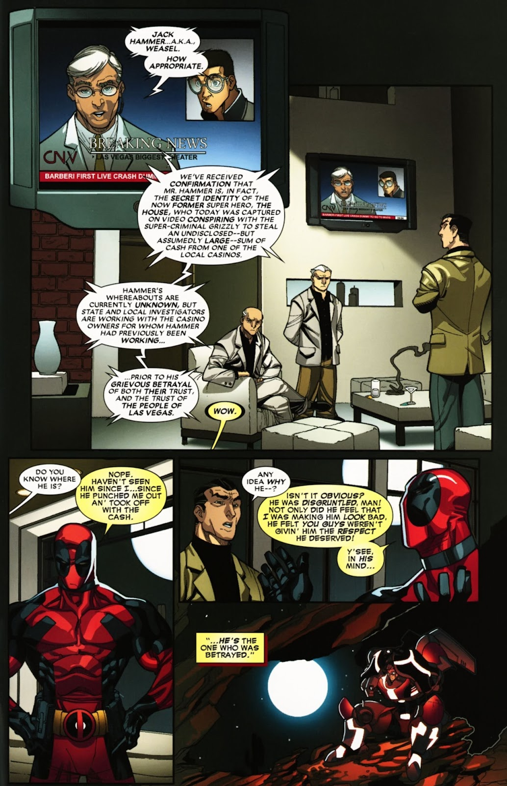 Read online Deadpool (2008) comic -  Issue #24 - 31