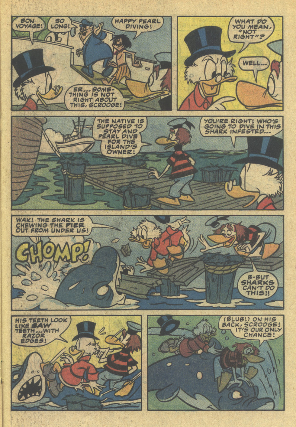 Read online Uncle Scrooge (1953) comic -  Issue #200 - 21