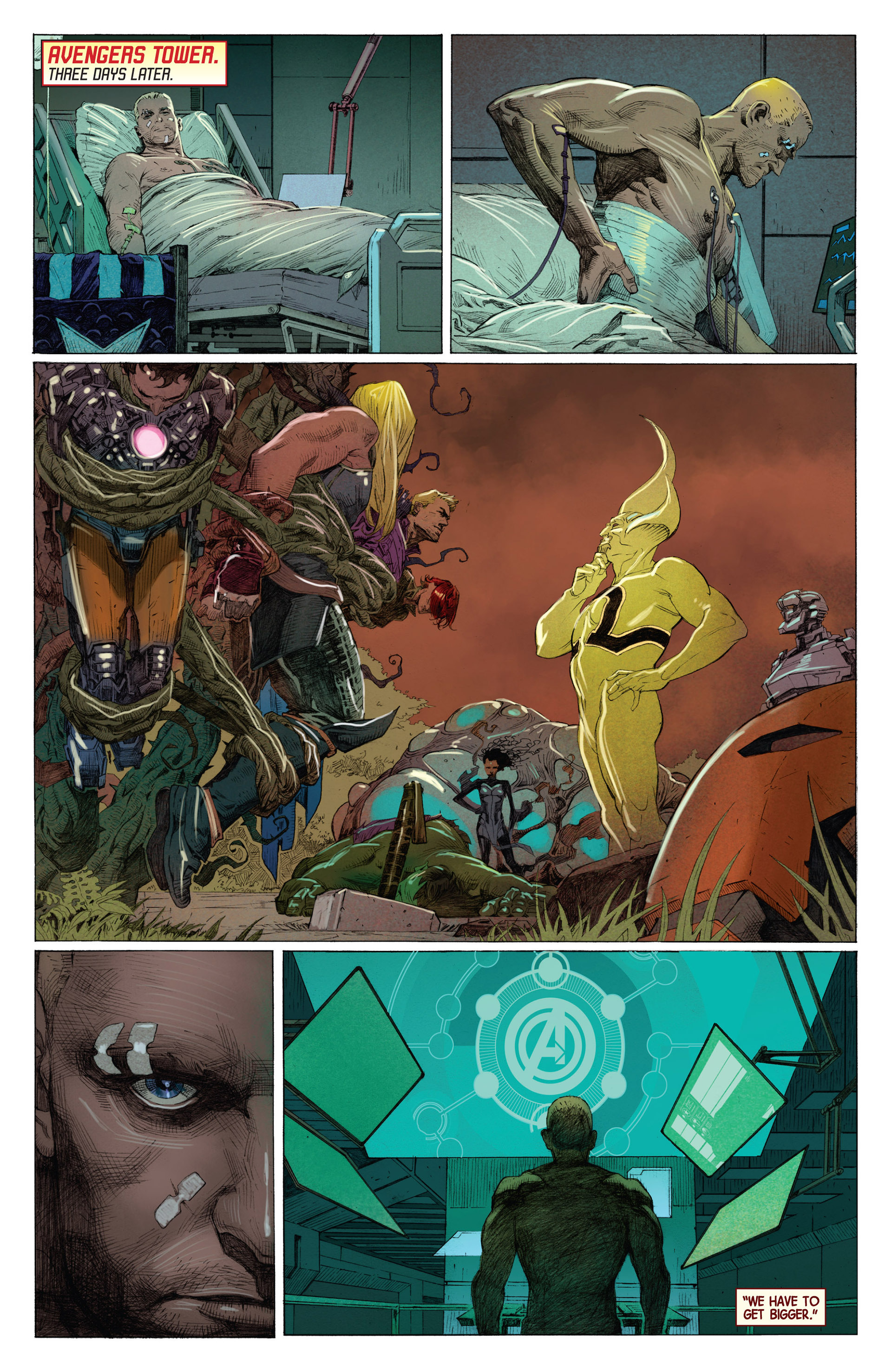 Read online Avengers (2013) comic -  Issue #1 - 21