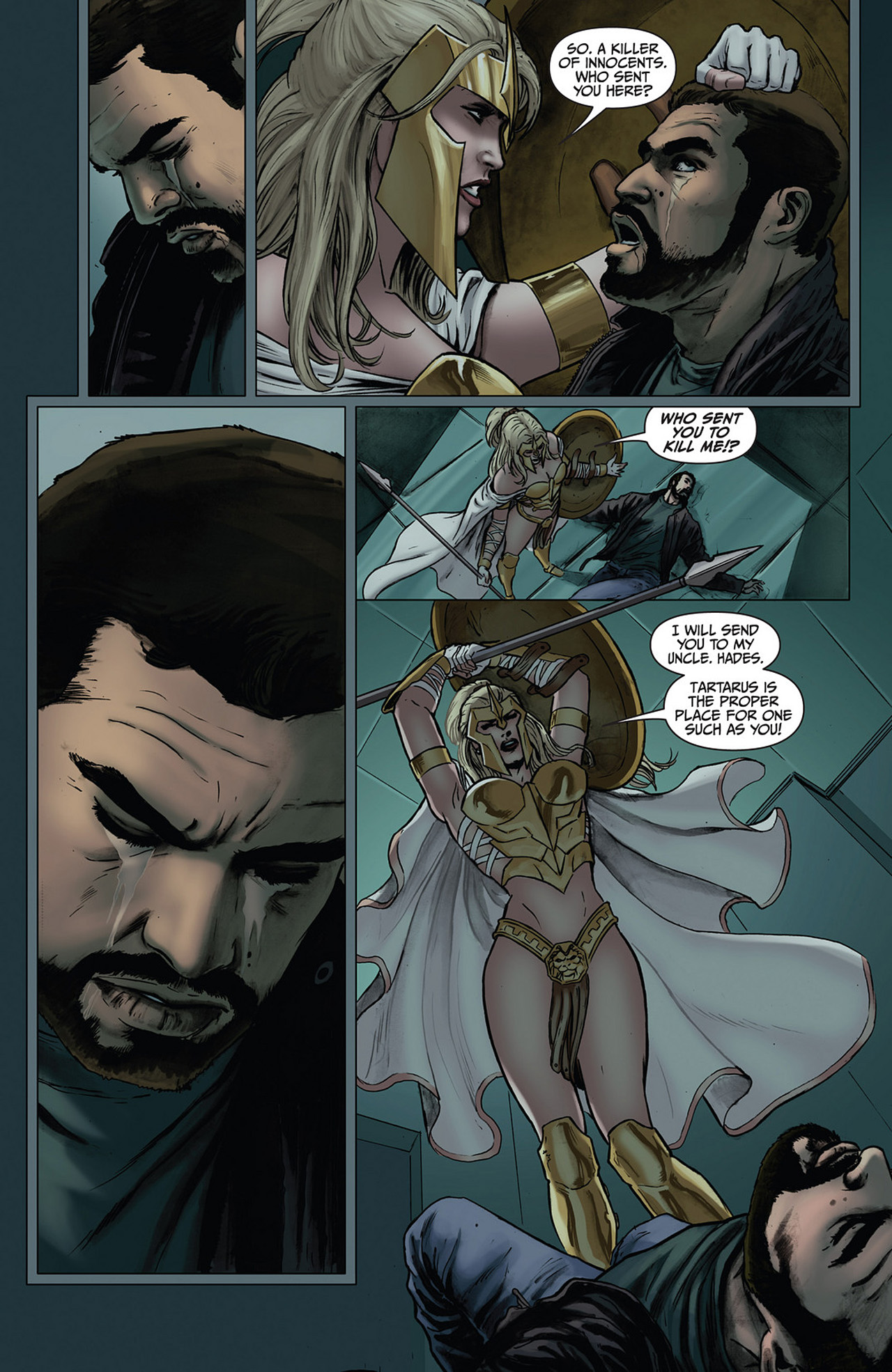 Read online Athena comic -  Issue #2 - 10