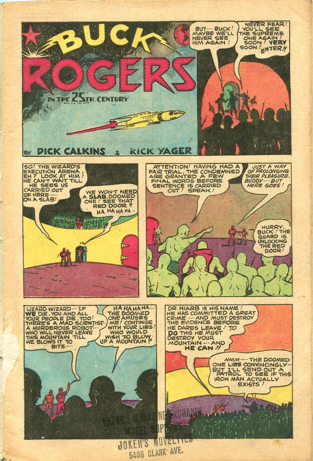 Read online Famous Funnies comic -  Issue #154 - 3