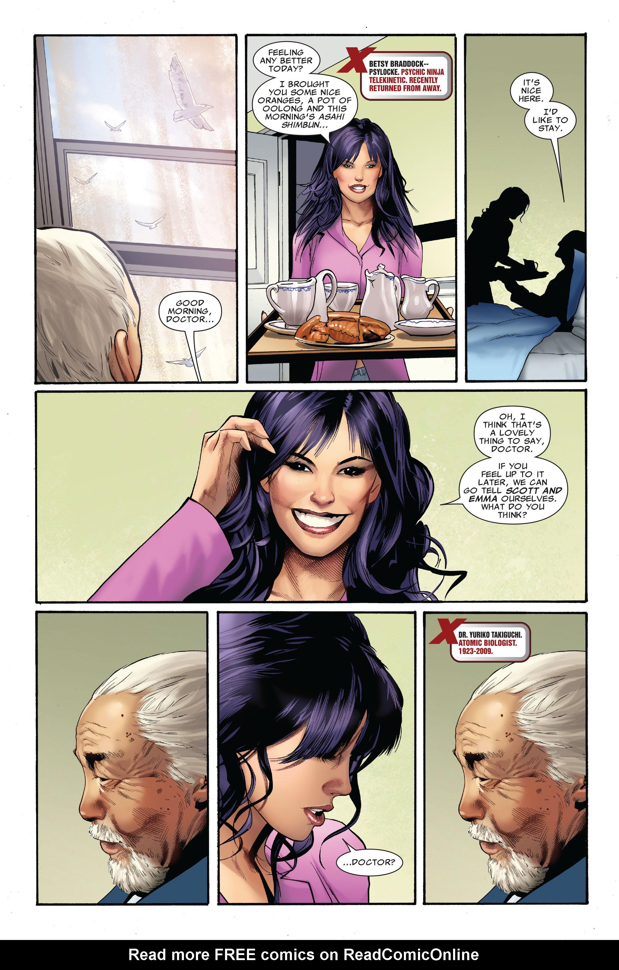 Read online Uncanny X-Men (1963) comic -  Issue #515 - 9