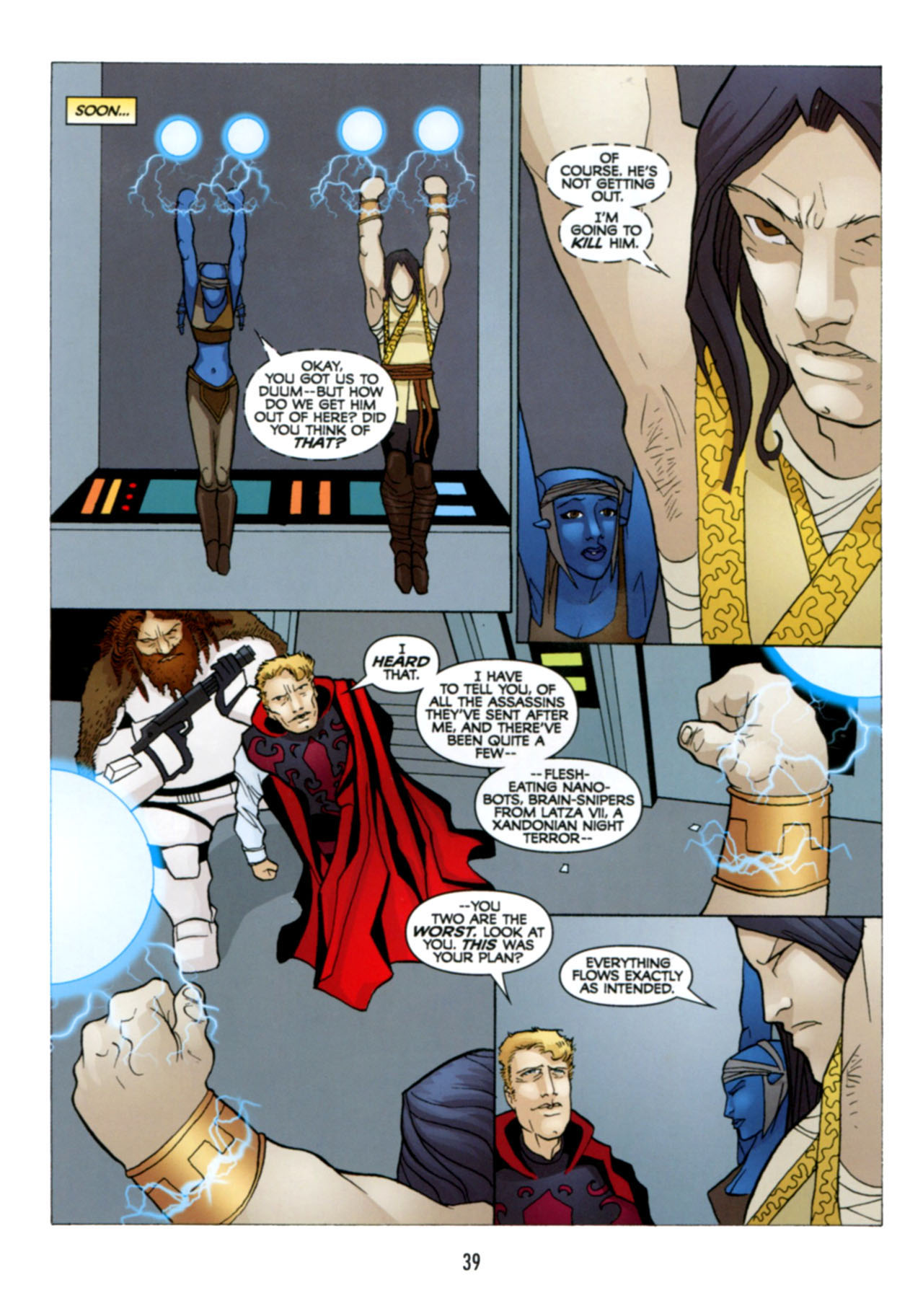 Read online Star Wars: The Clone Wars - Deadly Hands of Shon-Ju comic -  Issue # Full - 40
