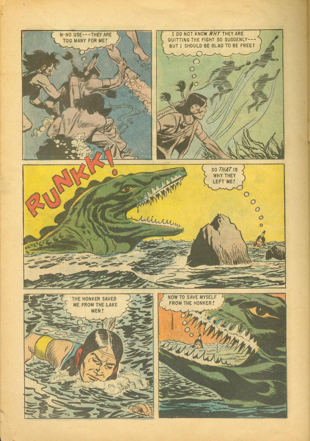 Read online Turok, Son of Stone comic -  Issue #18 - 28